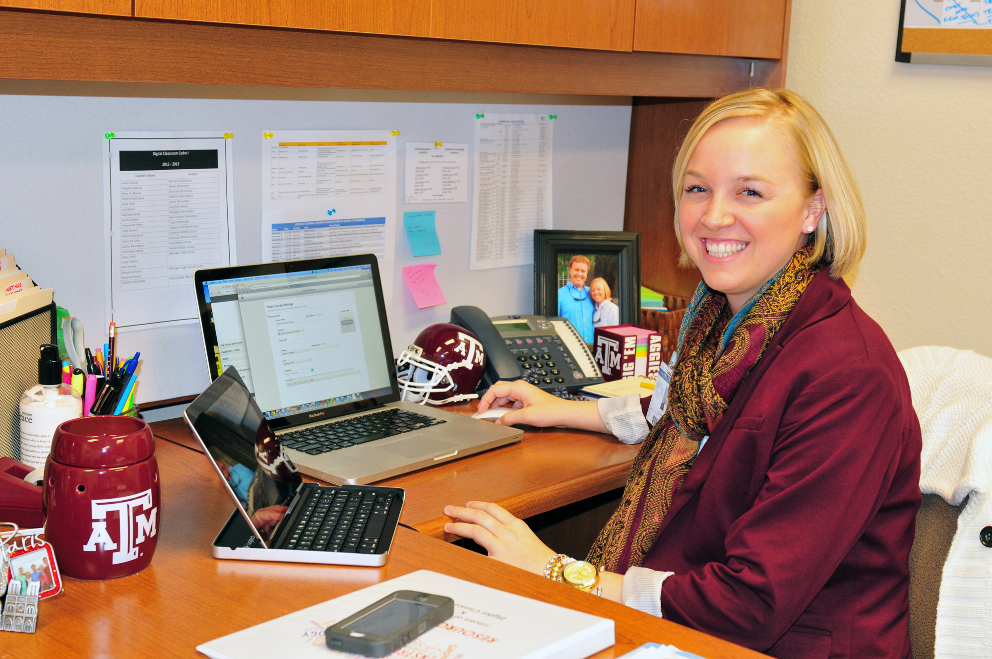 Person of the Week: Boykin helps HCISD bring technology in classrooms