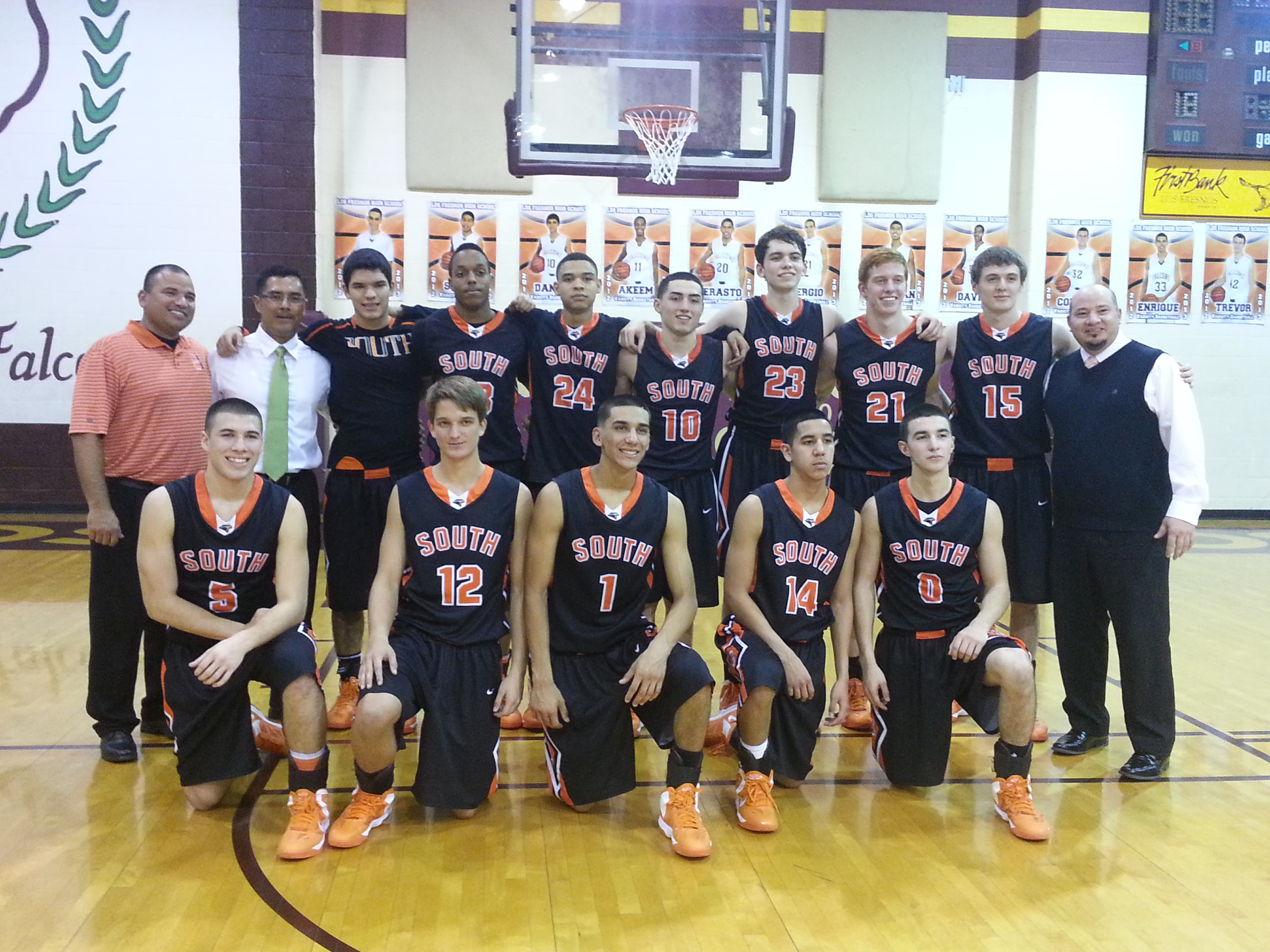 HHSS Basketball named 32 – 5A District Champion