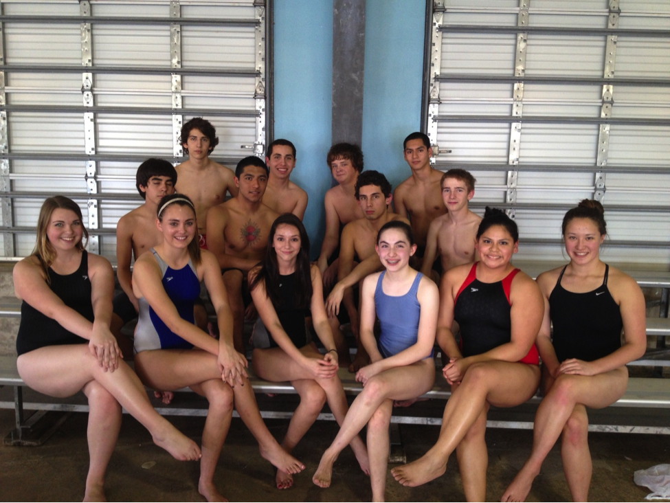High school swim teams blaze past competition at UIL District Meet