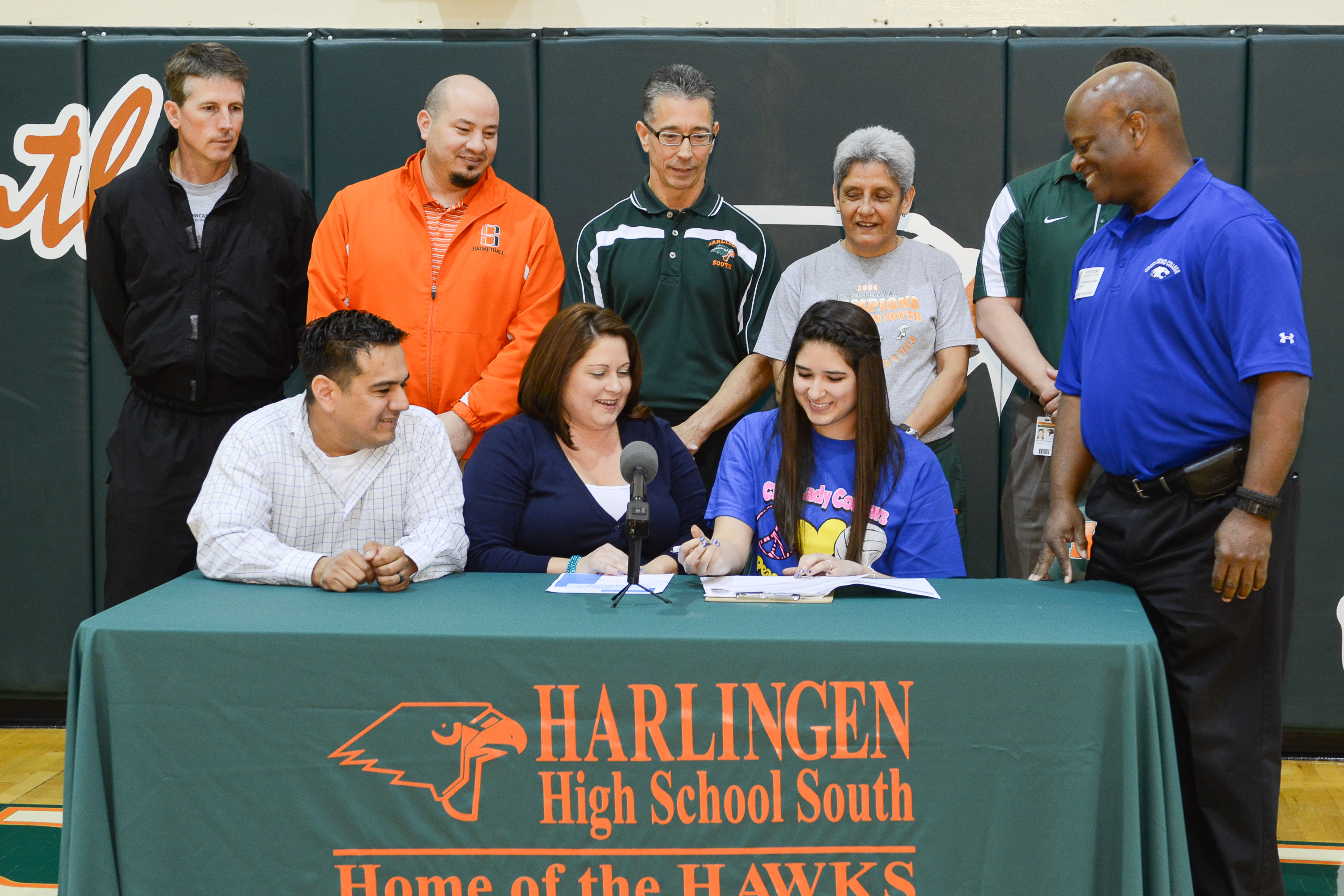 HHSS volleyball player signs letter of intent to continue athletic career