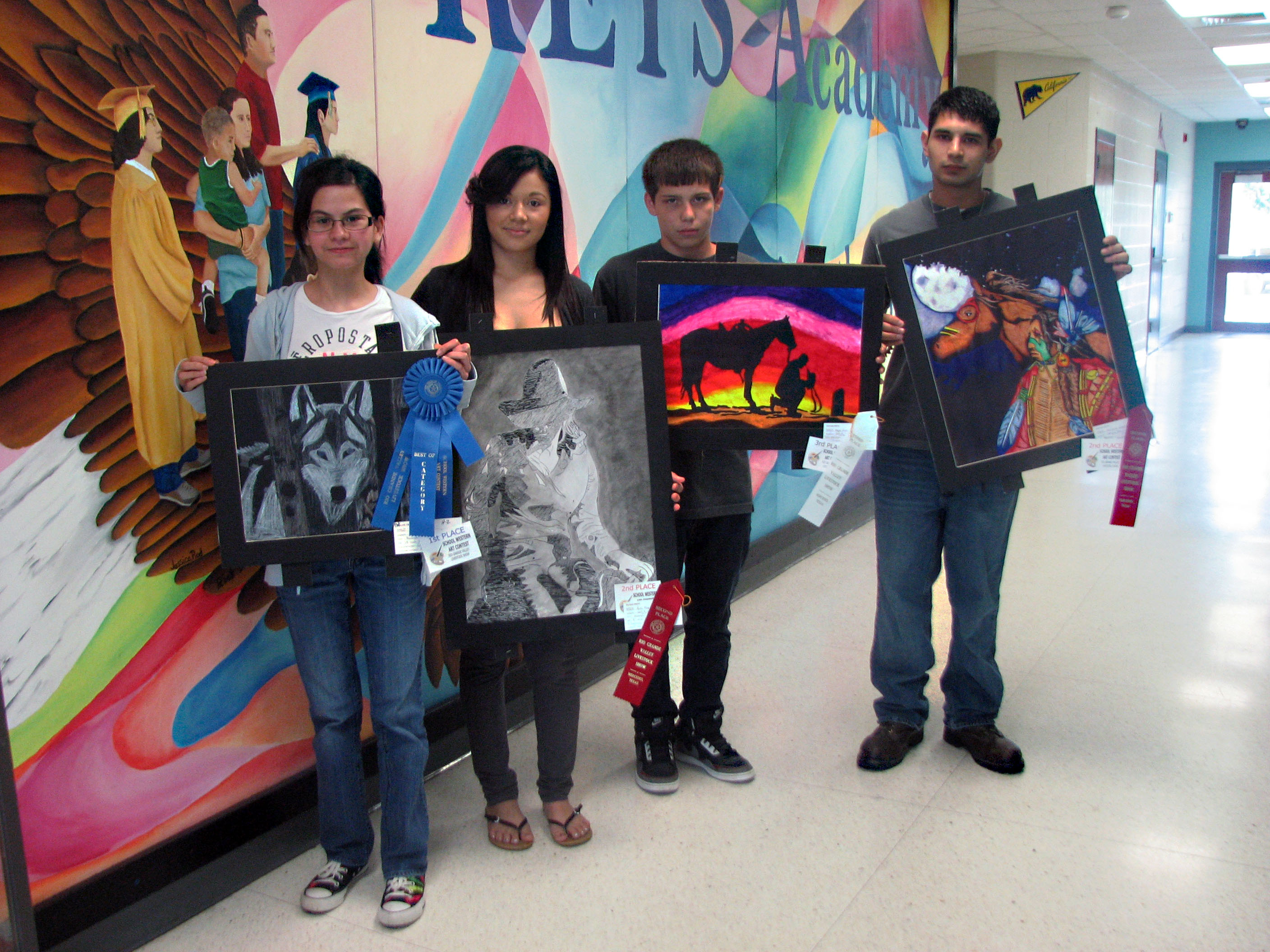KEYS students earn prizes for artwork at livestock show
