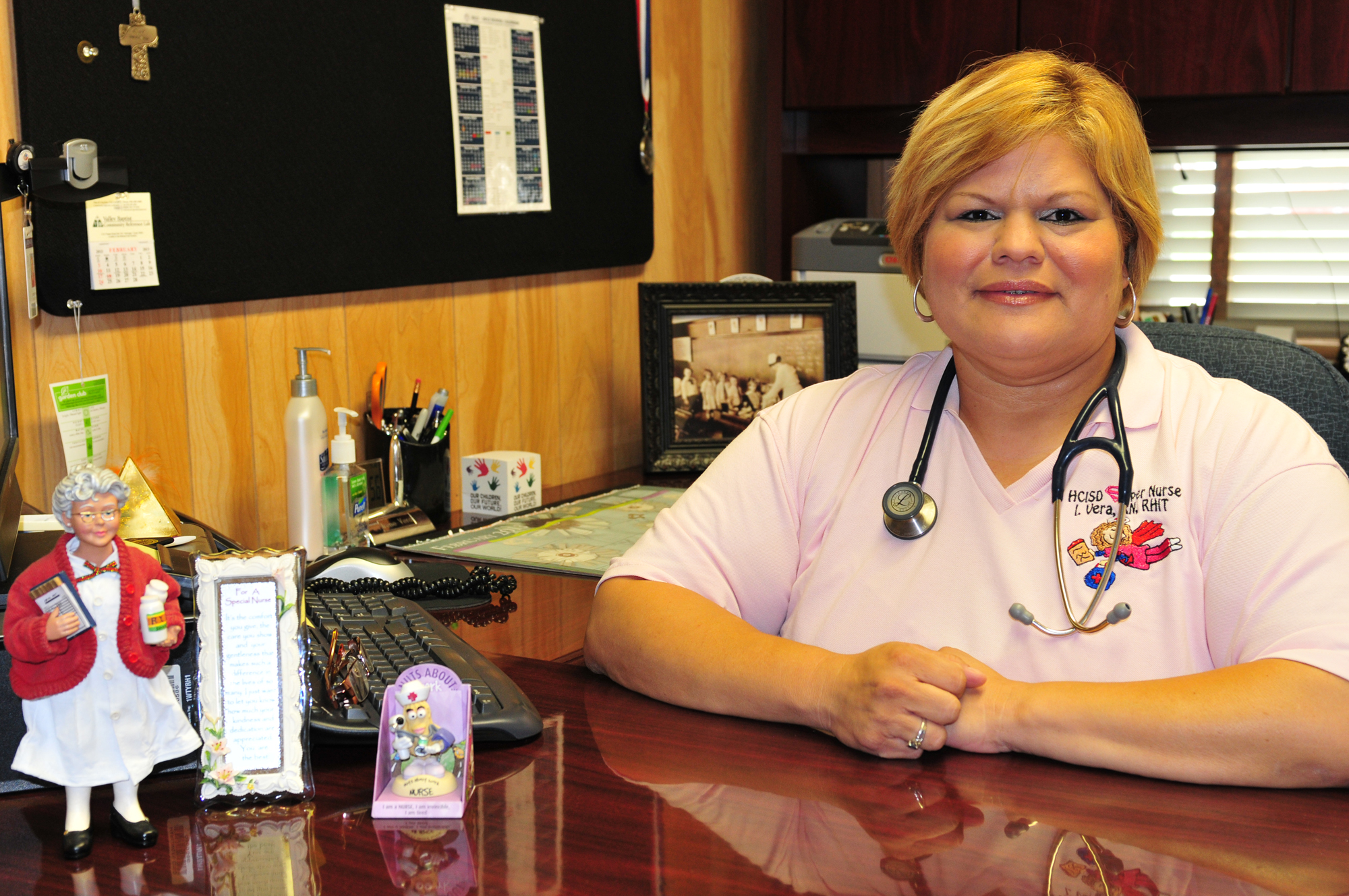Person of the Week: Vera keeps health a priority at HCISD