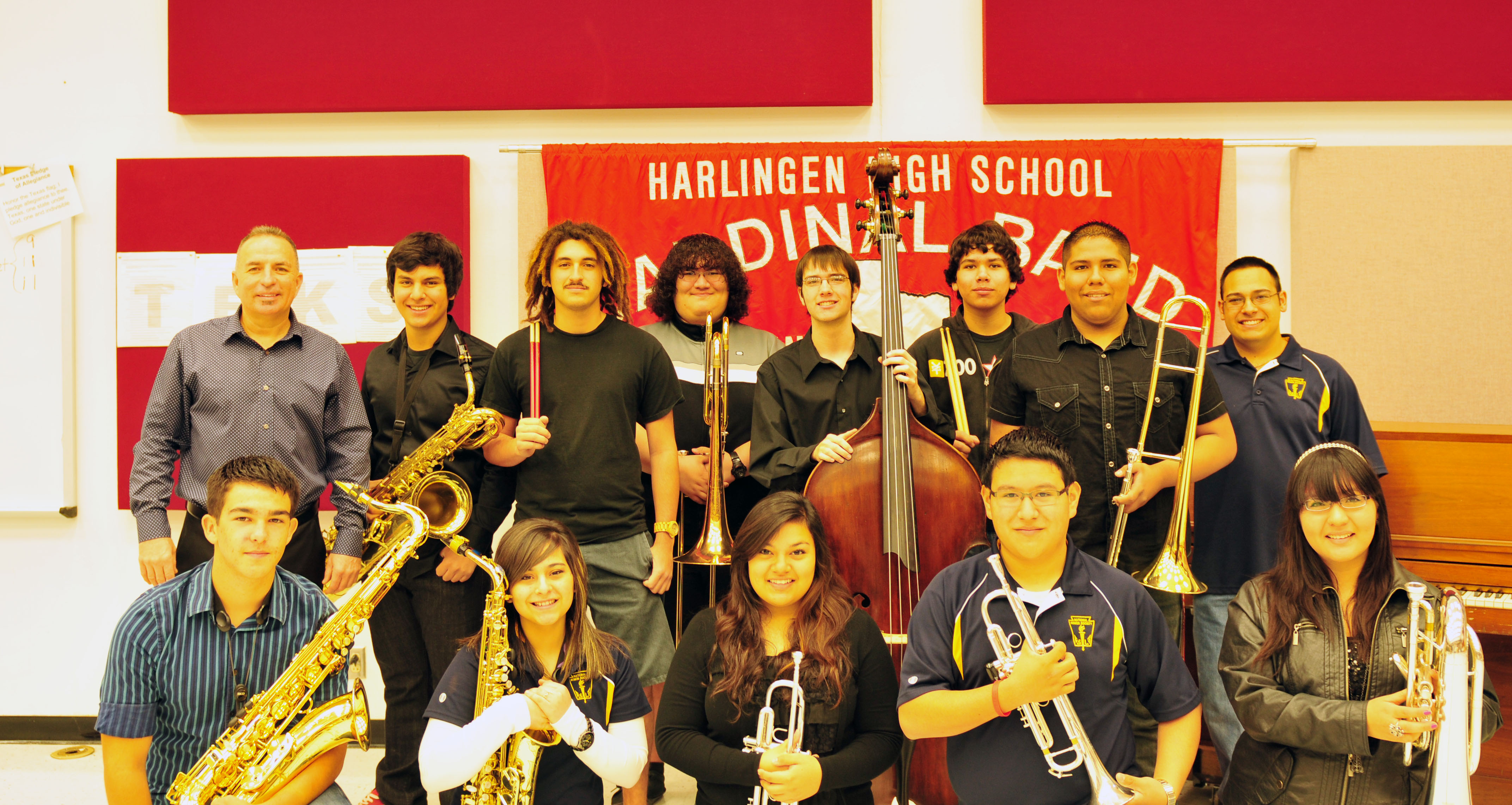 High school Jazz Ensembles earn high honors at university music festival