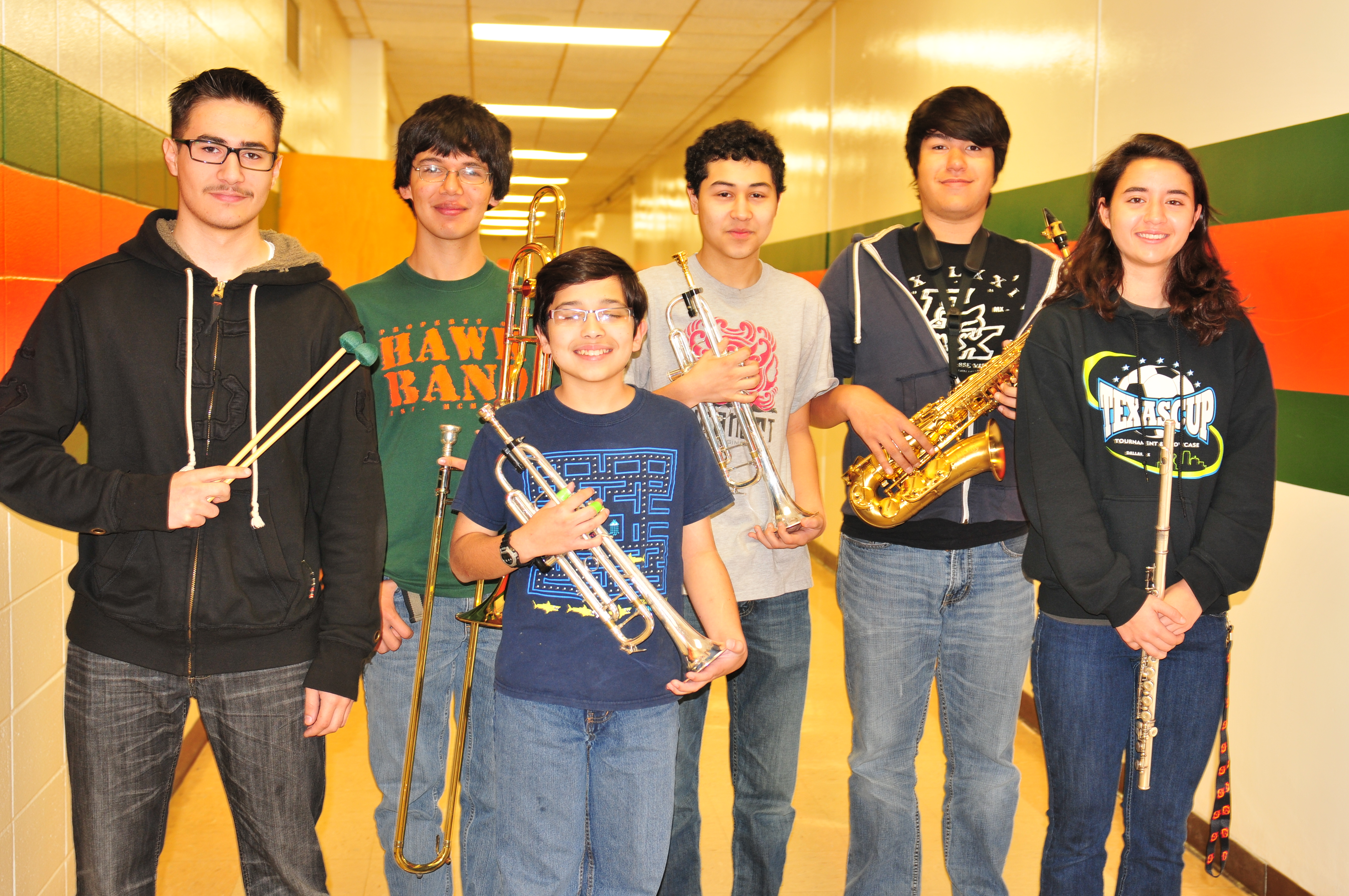 HHSS Jazz Band stays on key at festival