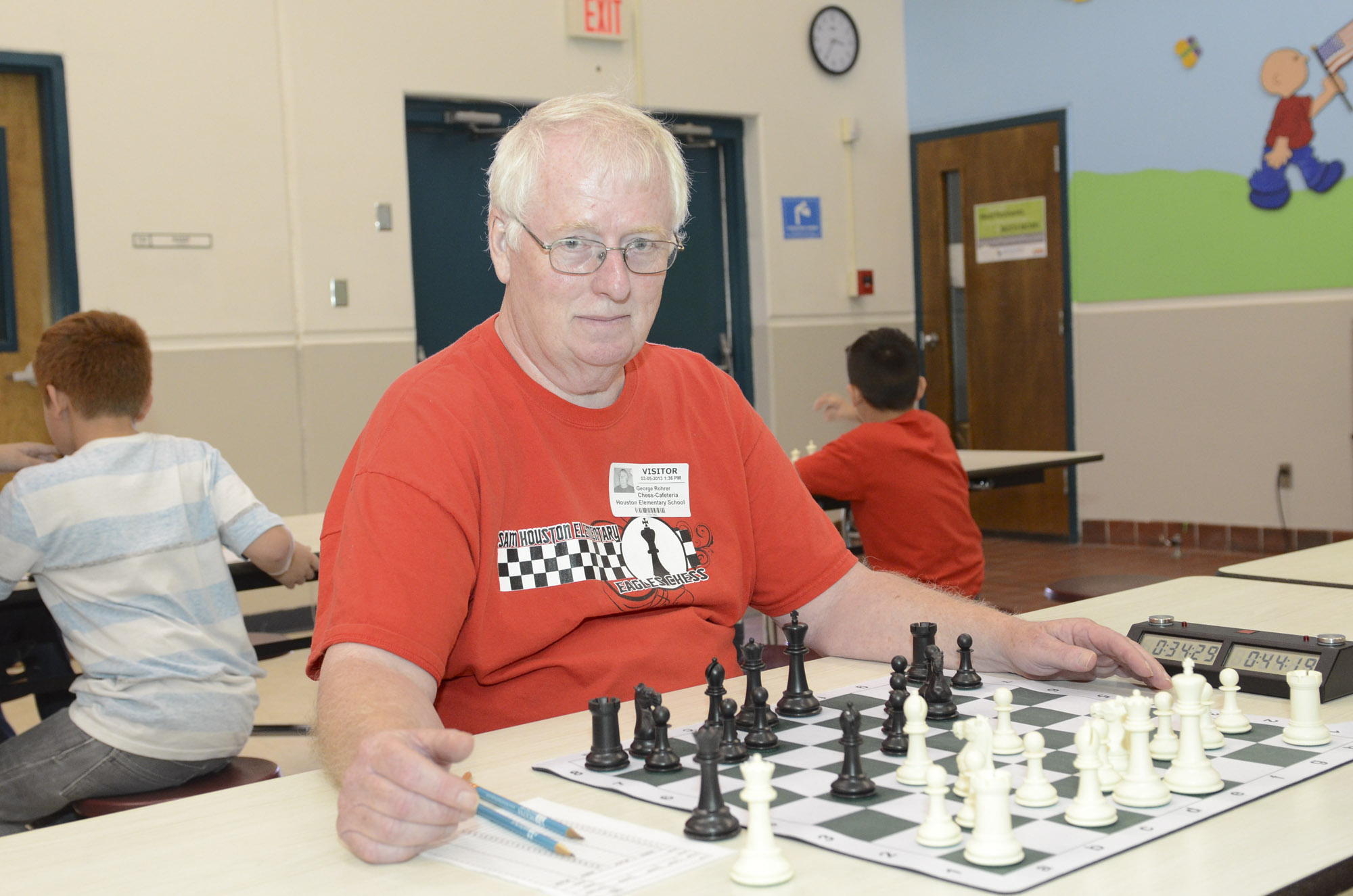 Person of the Week: Rohrer helps HCISD students outsmart the competition