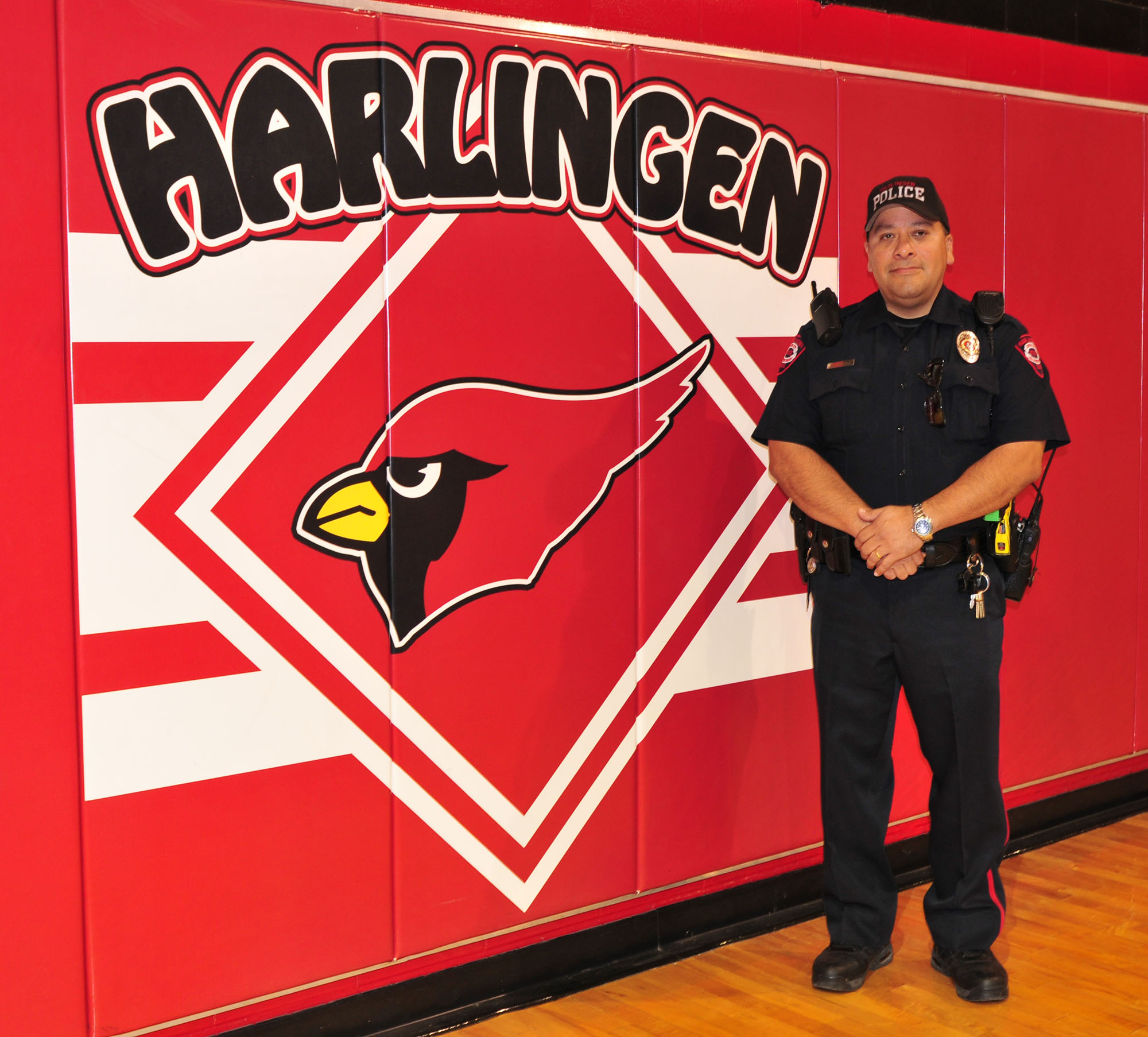 Person of the Week: Moreno puts safety first at HCISD