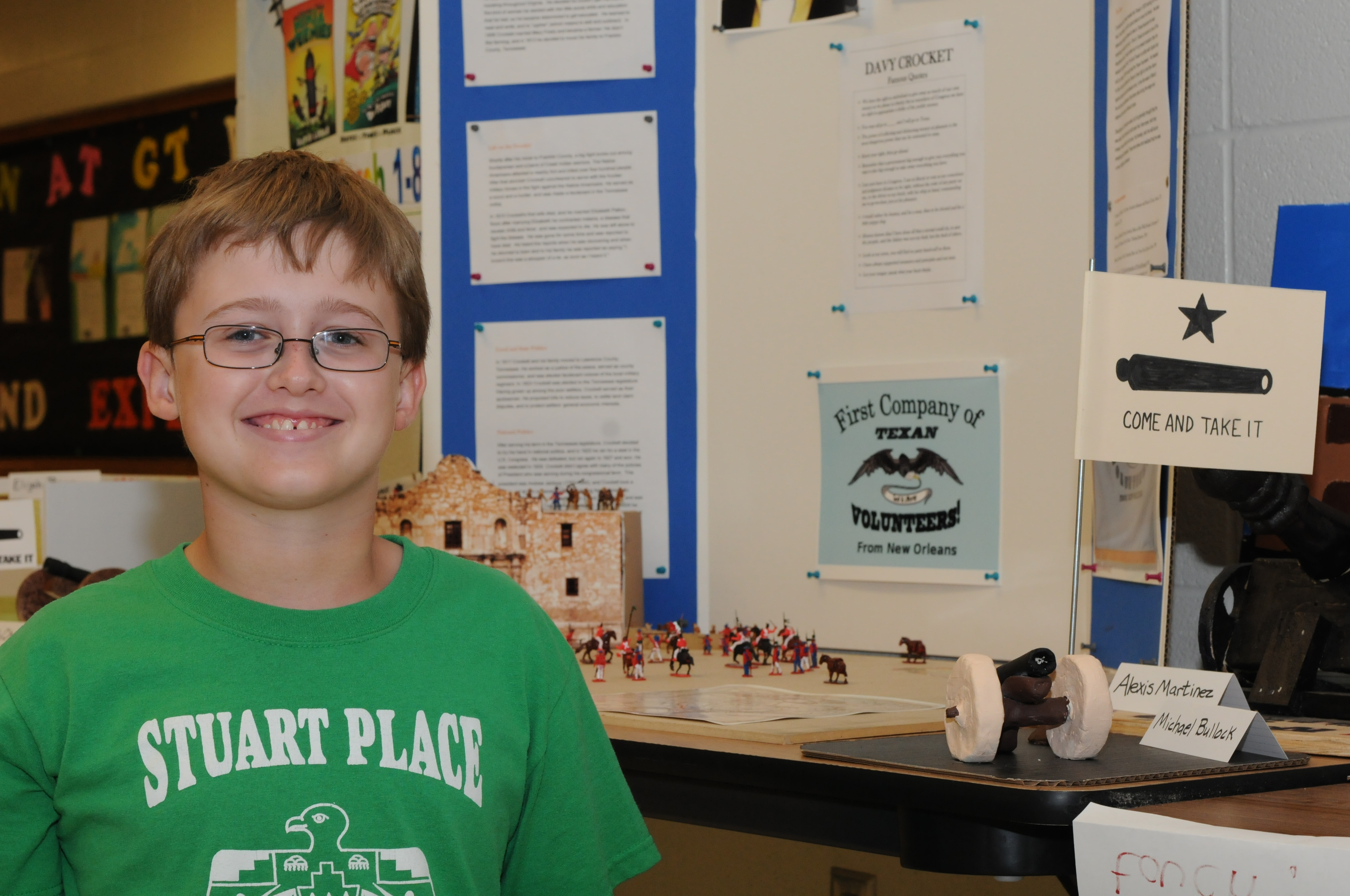 Stuart Place student uses technology to bring history to life