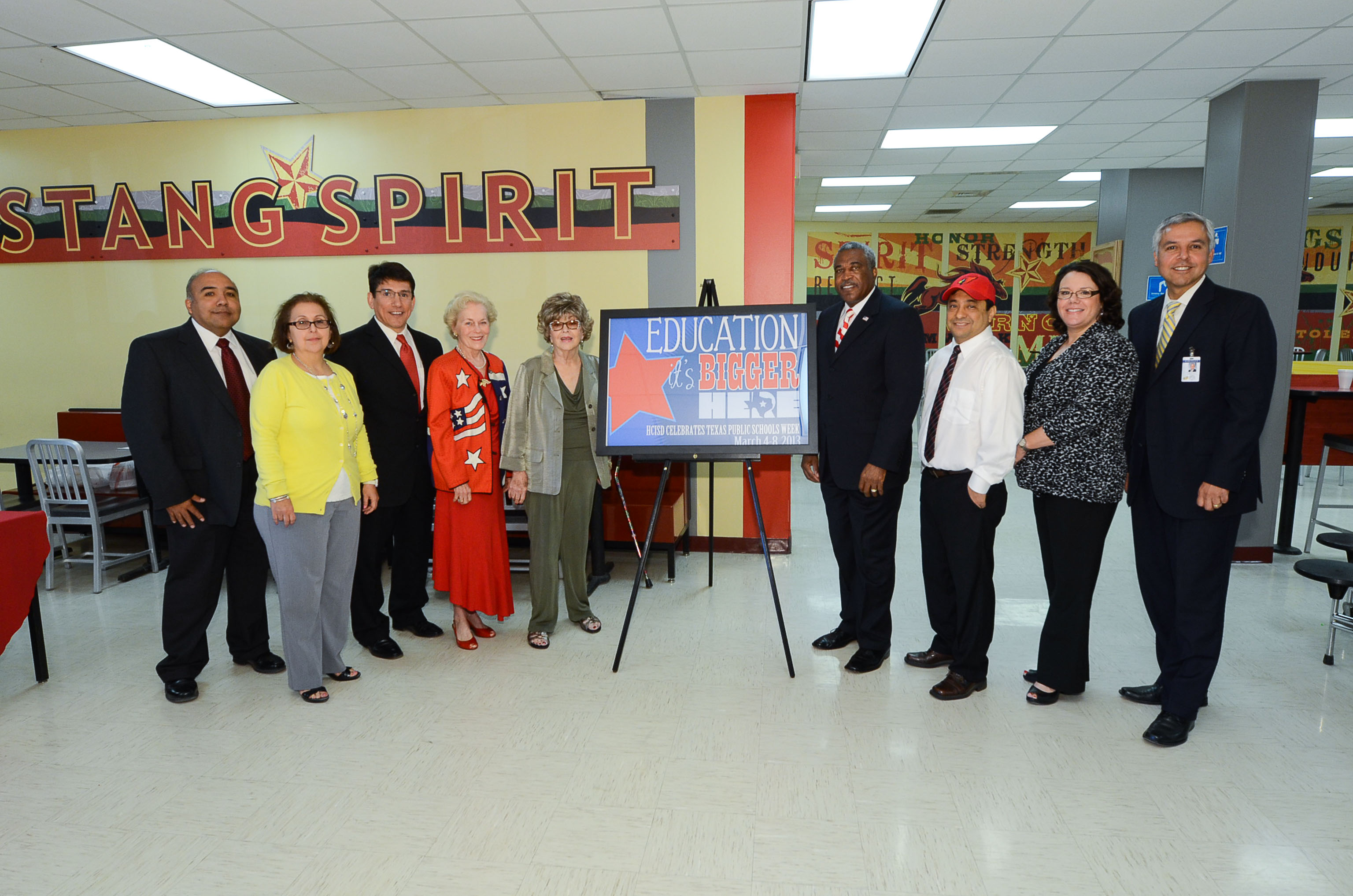 HCISD celebrates Texas Public Schools Week