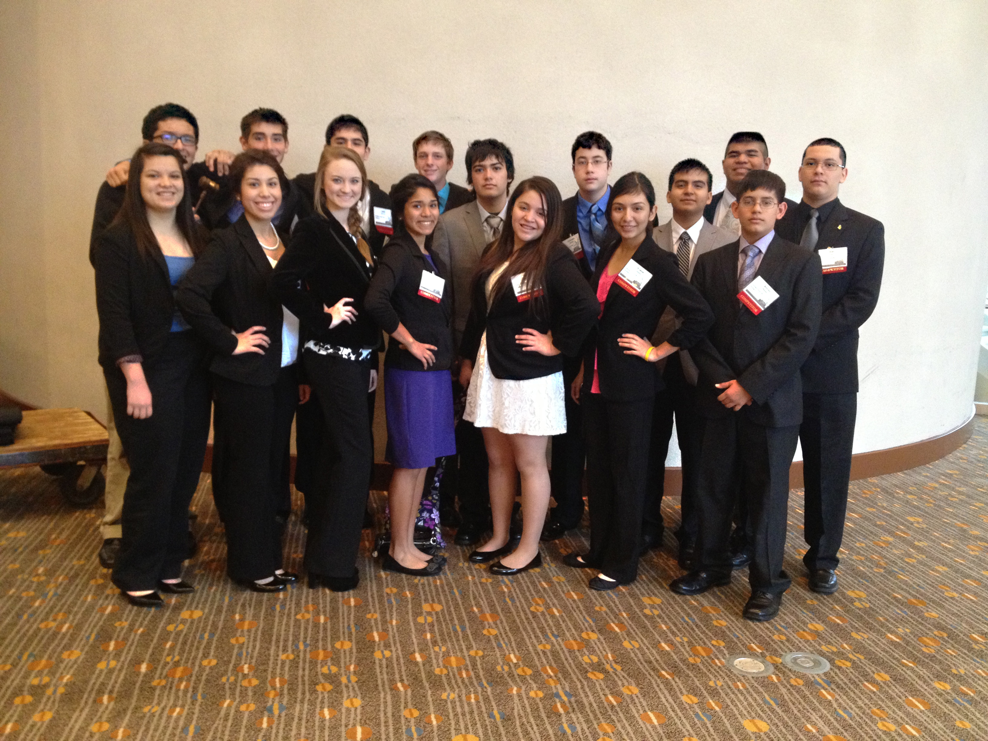 HHSS FBLA soars above during state competition