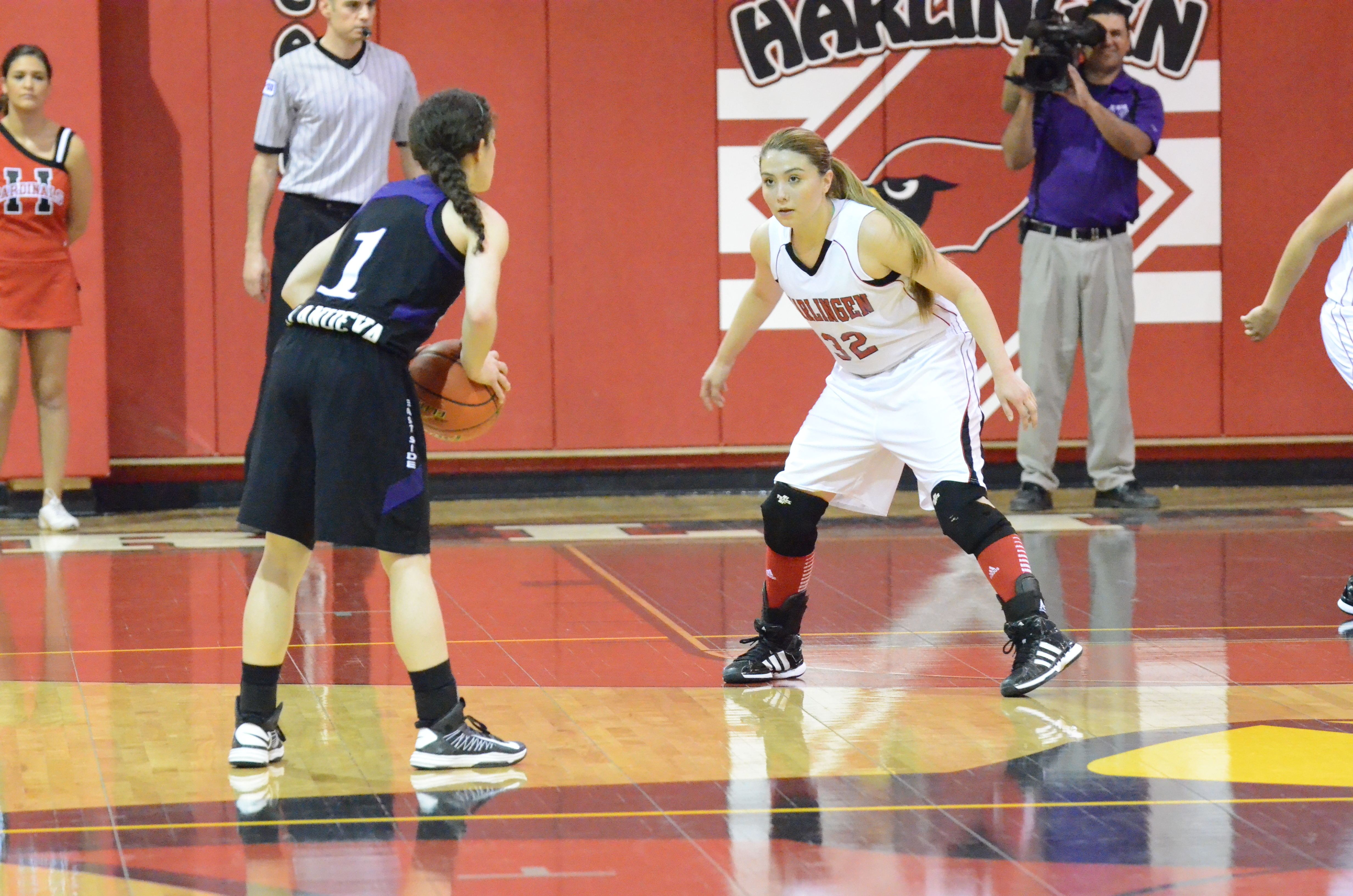 High school girls basketball players awarded positions on district teams