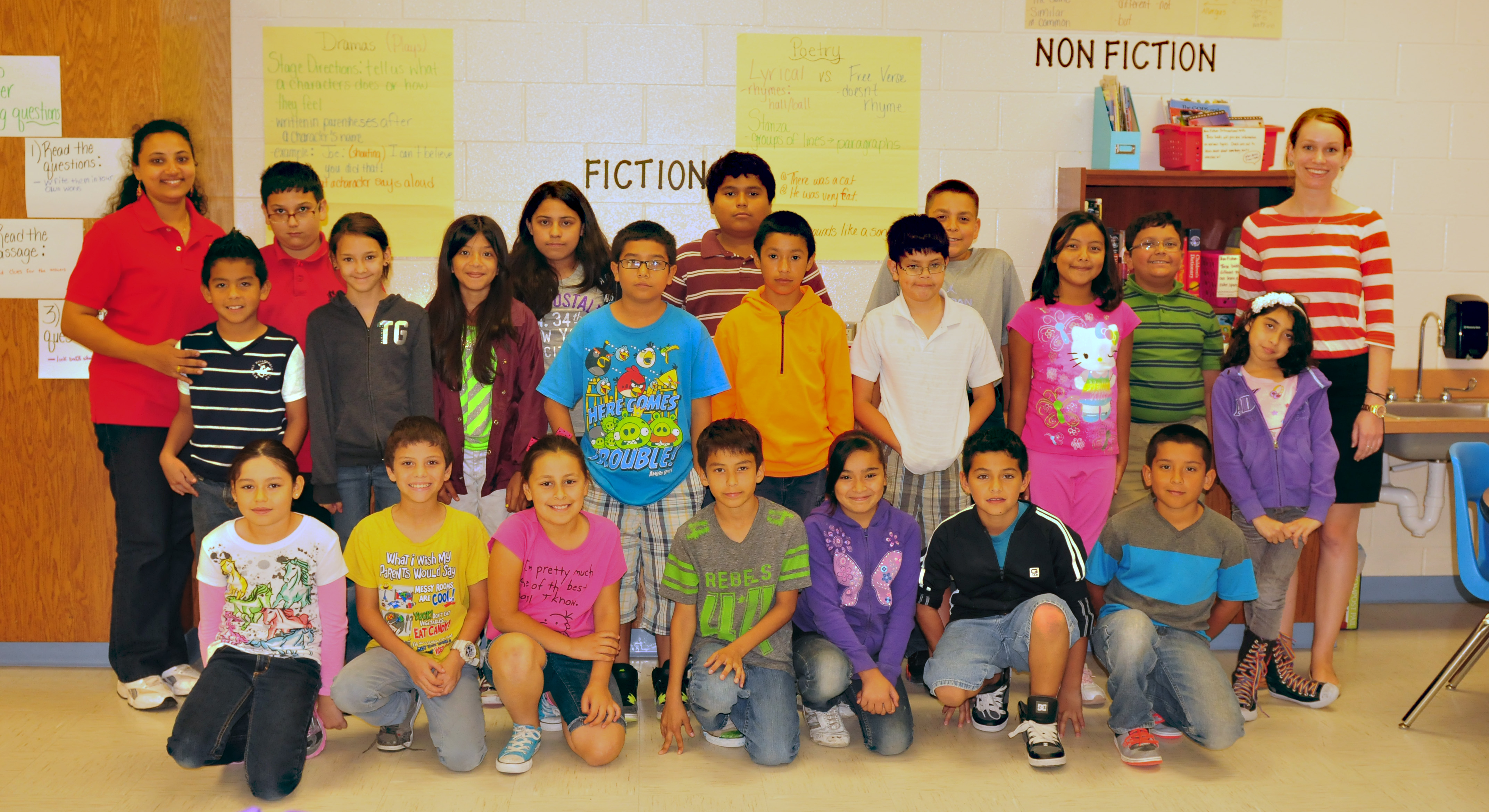 Rodriguez students exchange global experiences with visitor