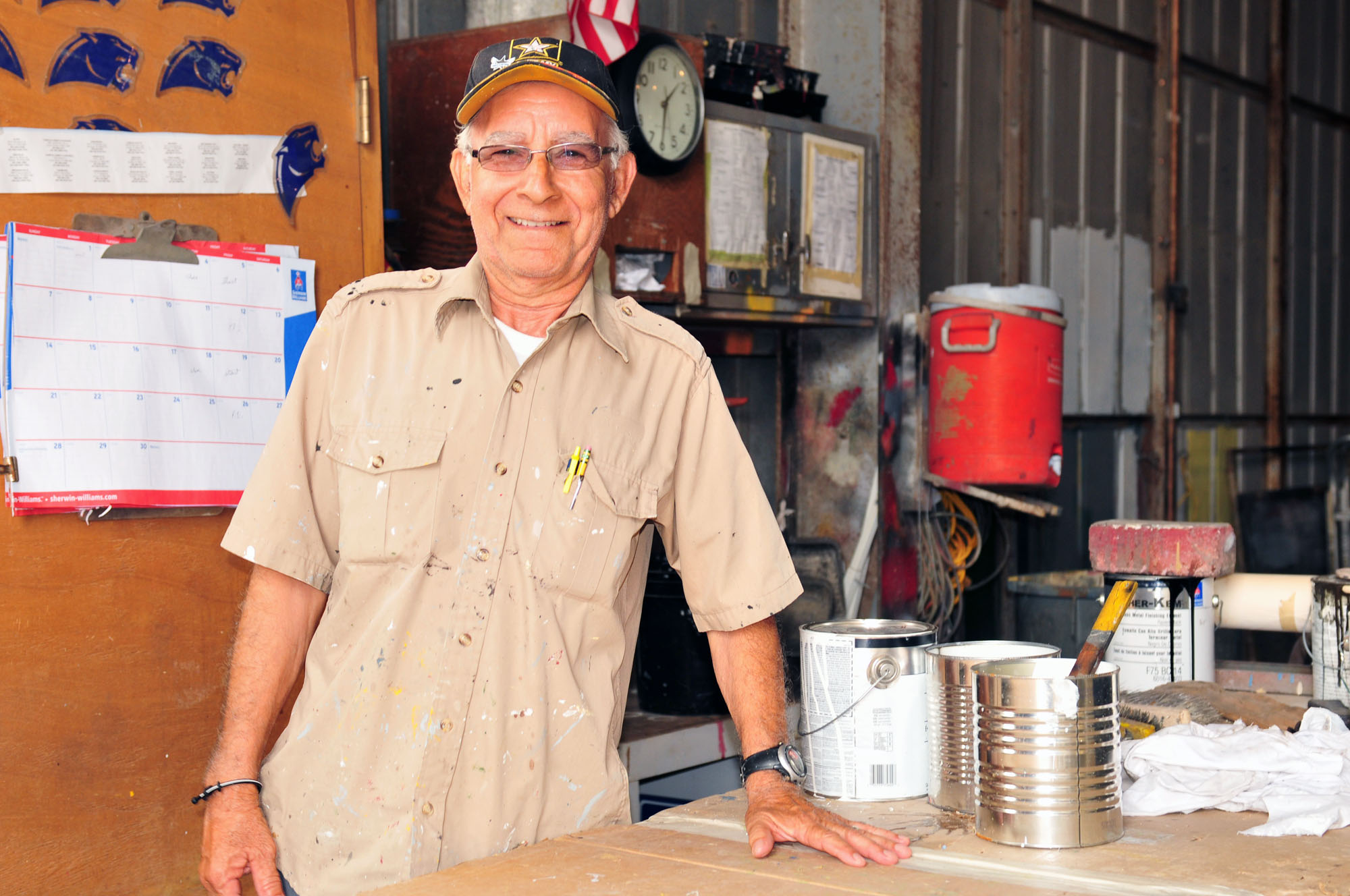 Person of the Week: Saldivar spends the years with HCISD