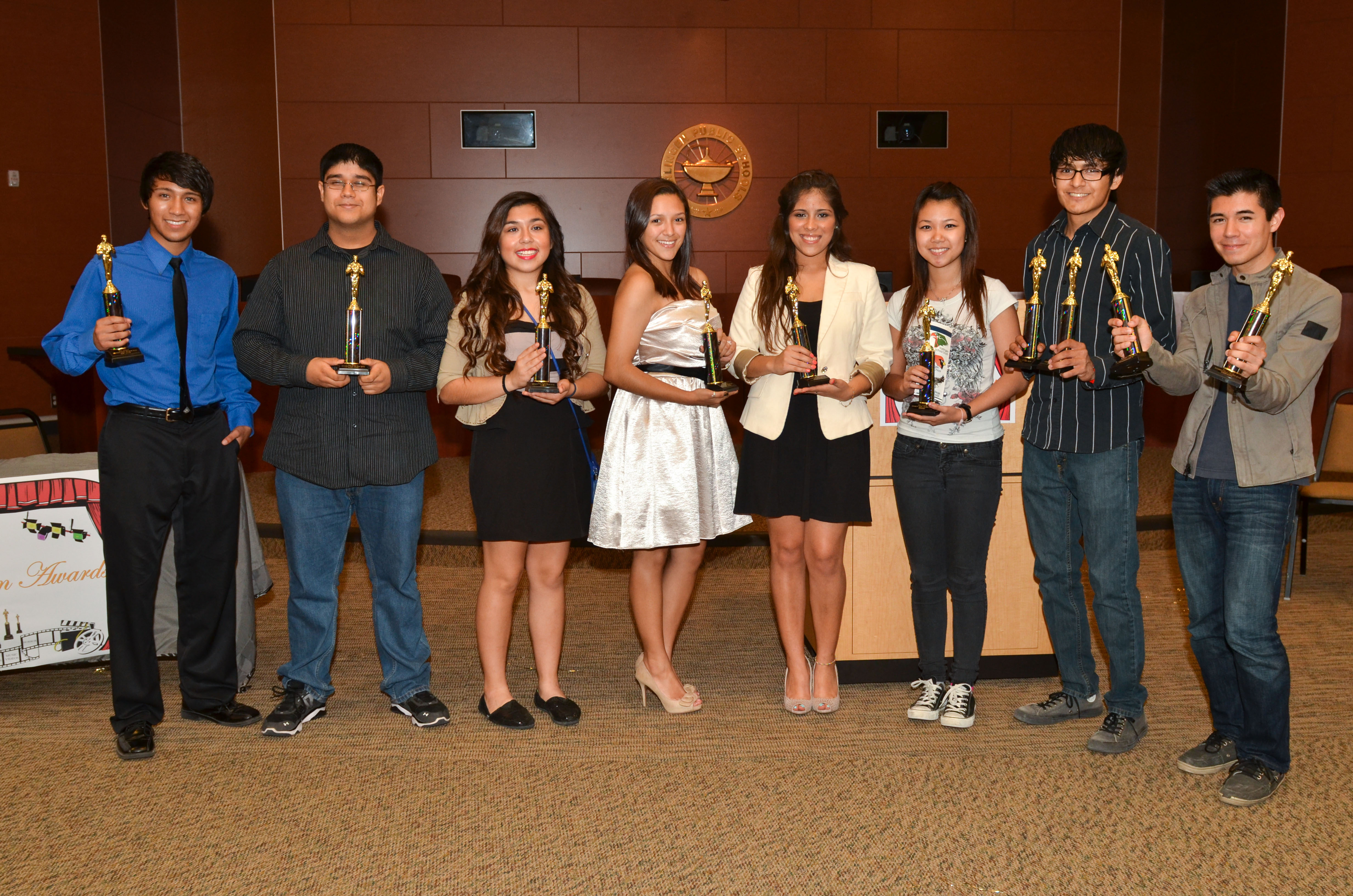 HCISD » Future filmmakers awarded at 2013 Student Film Awards