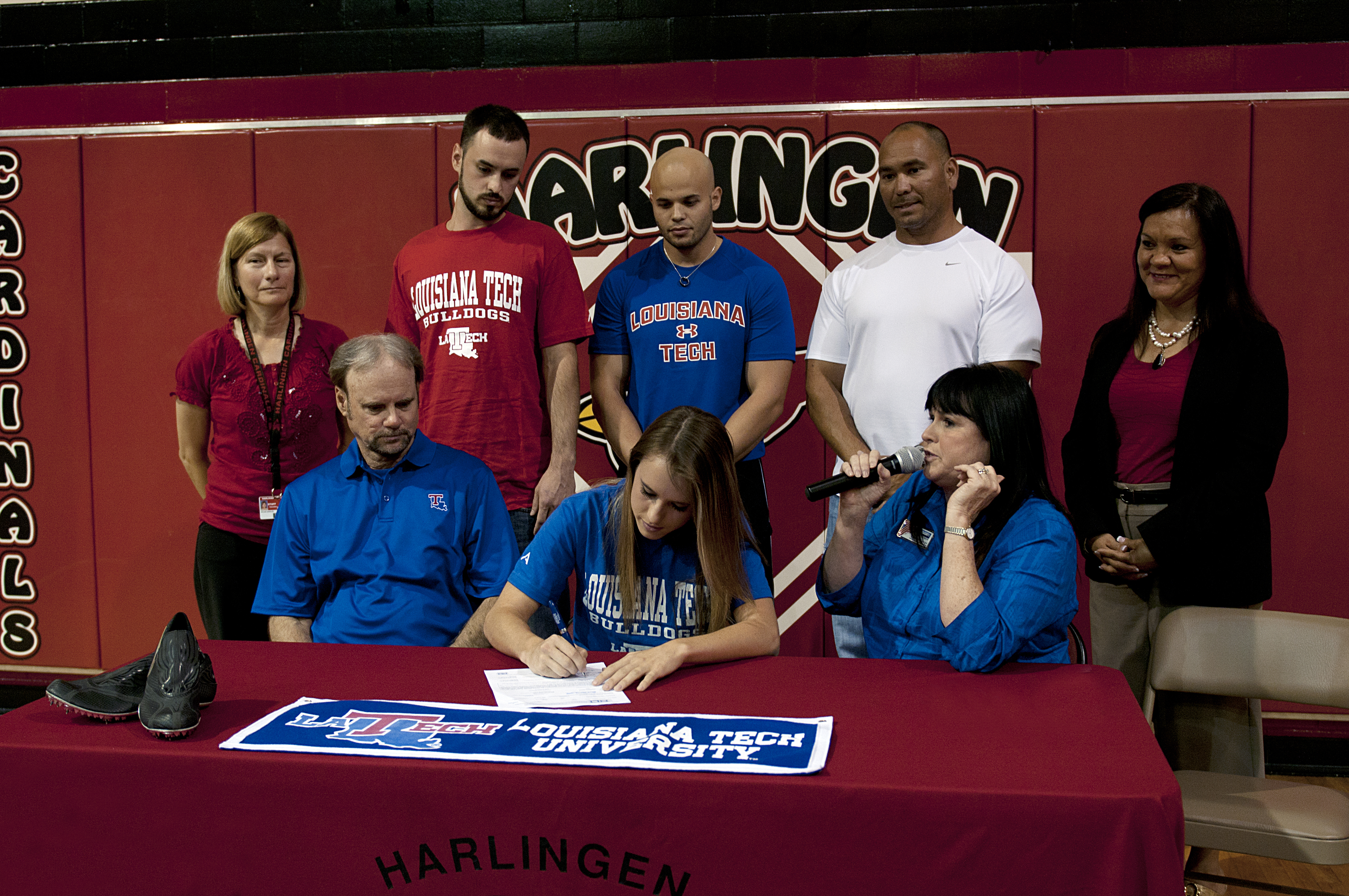 Divin, Collins sign letters of intent to continue athletic career