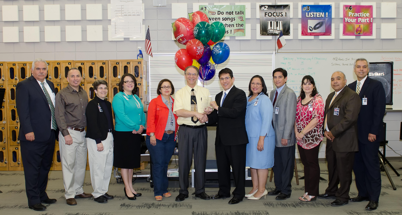 Shimotsu, Di Santis named HCISD's Teachers of the Year