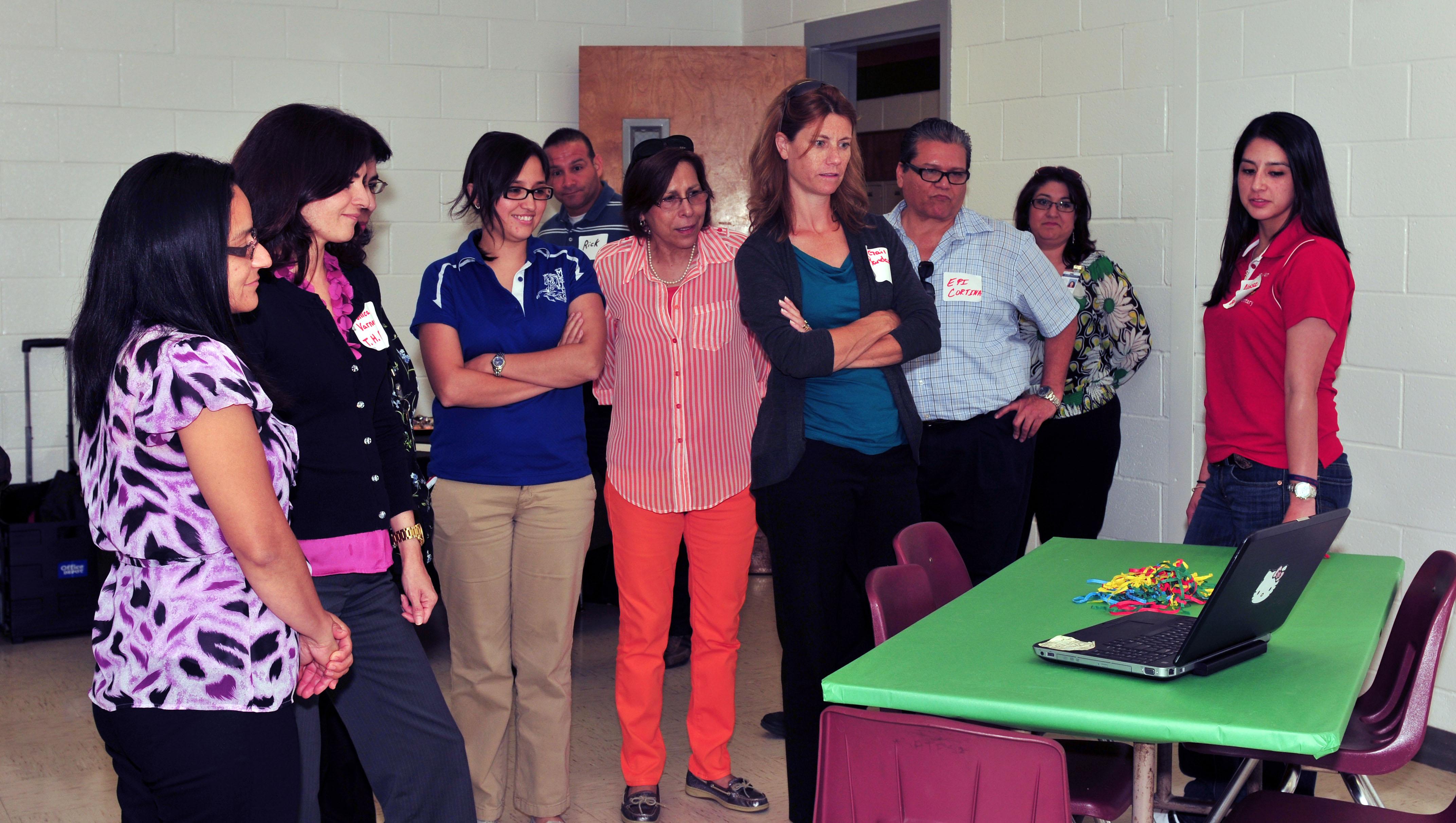 Vertical Teams work together for student success