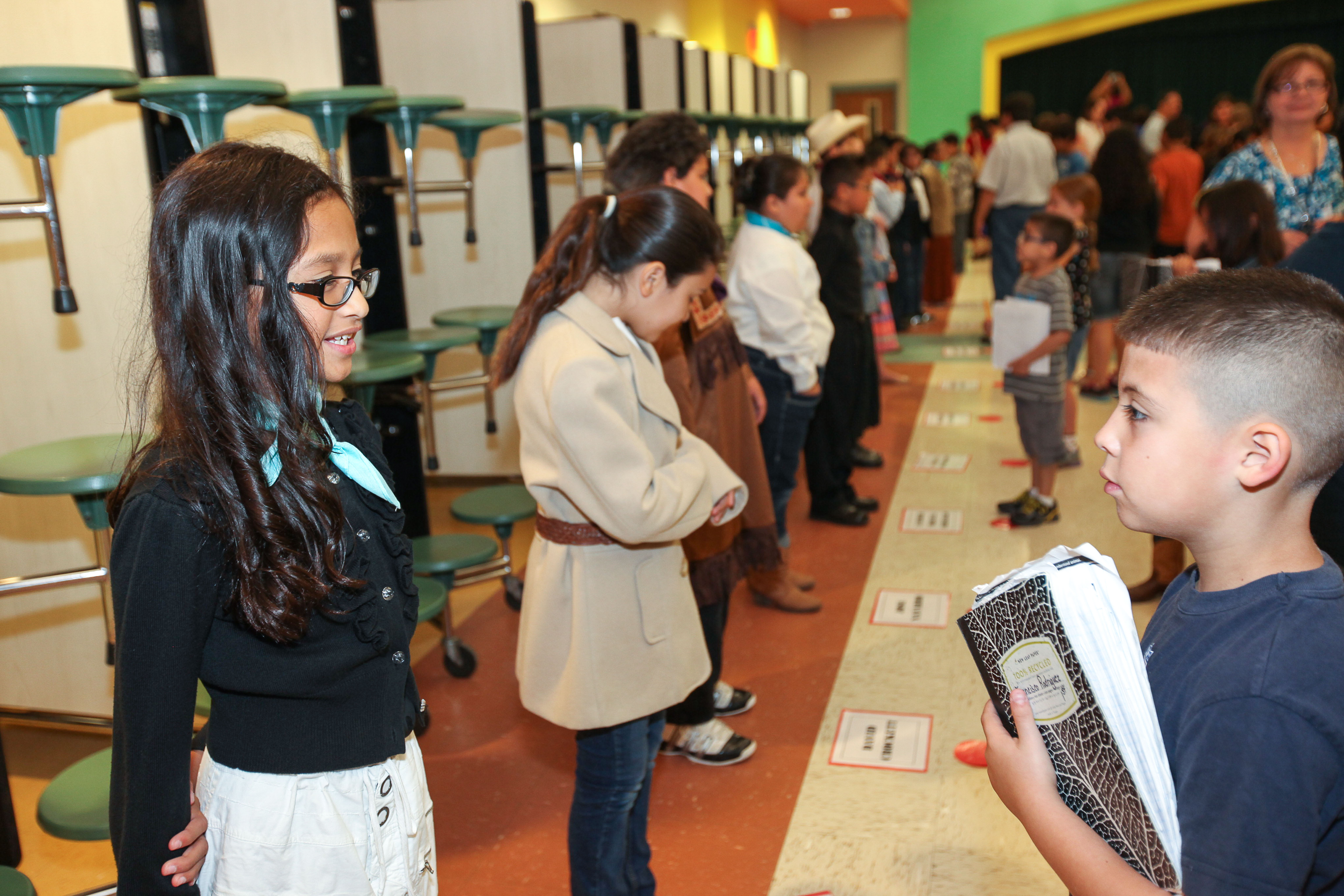 Stuart Place students bring historical figures to life