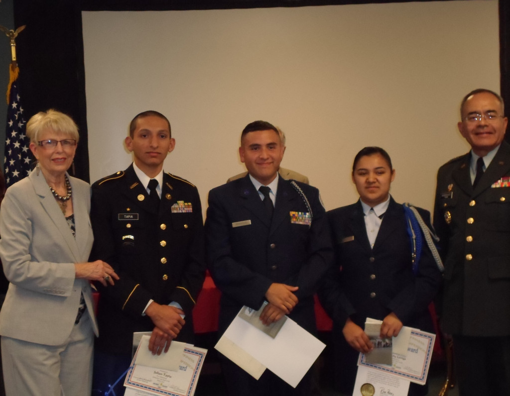 the Way to Happiness JROTC Scholarship Competition Winners 2013[1]