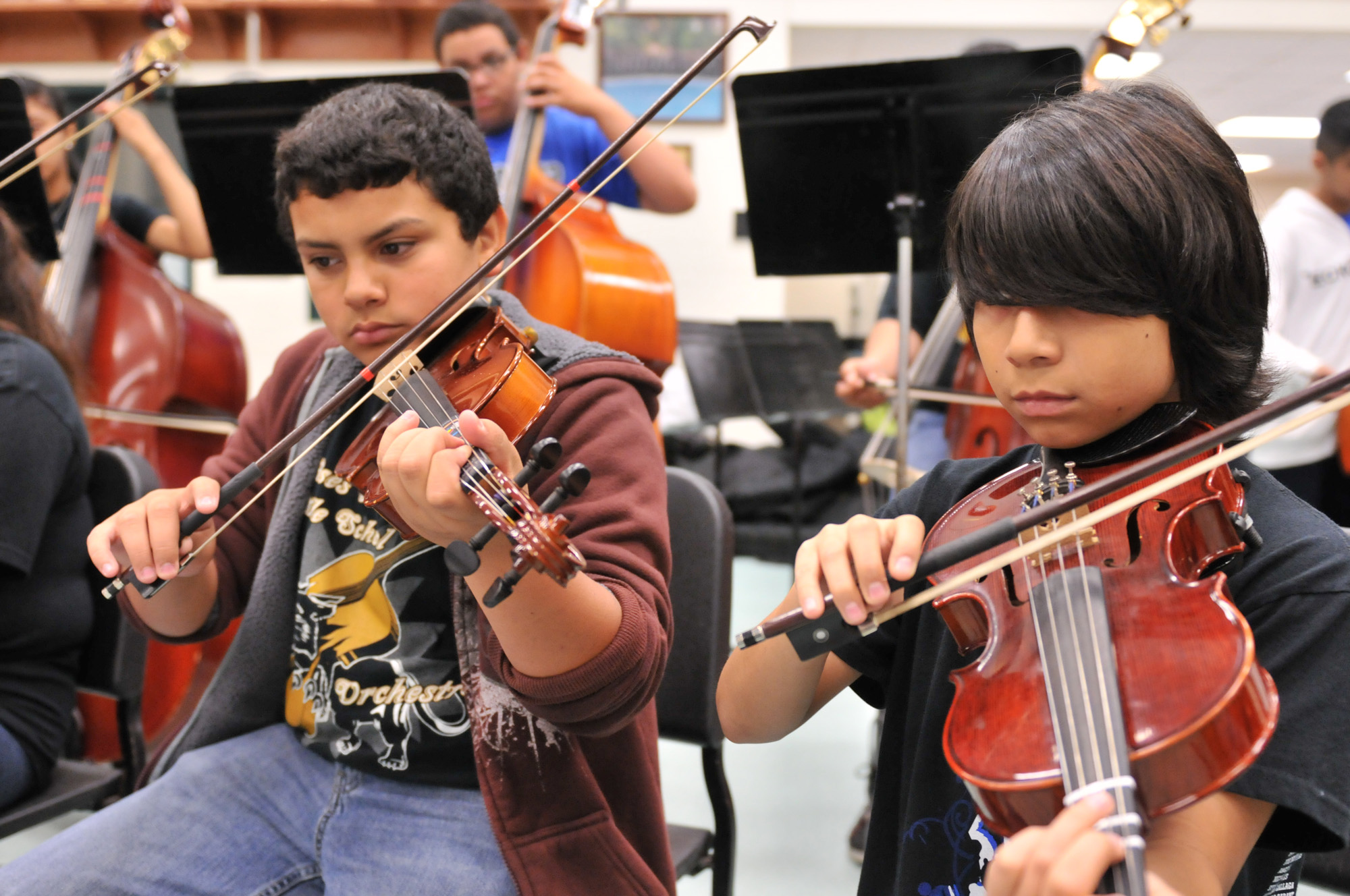 Music programs help students hit the right notes in classrooms