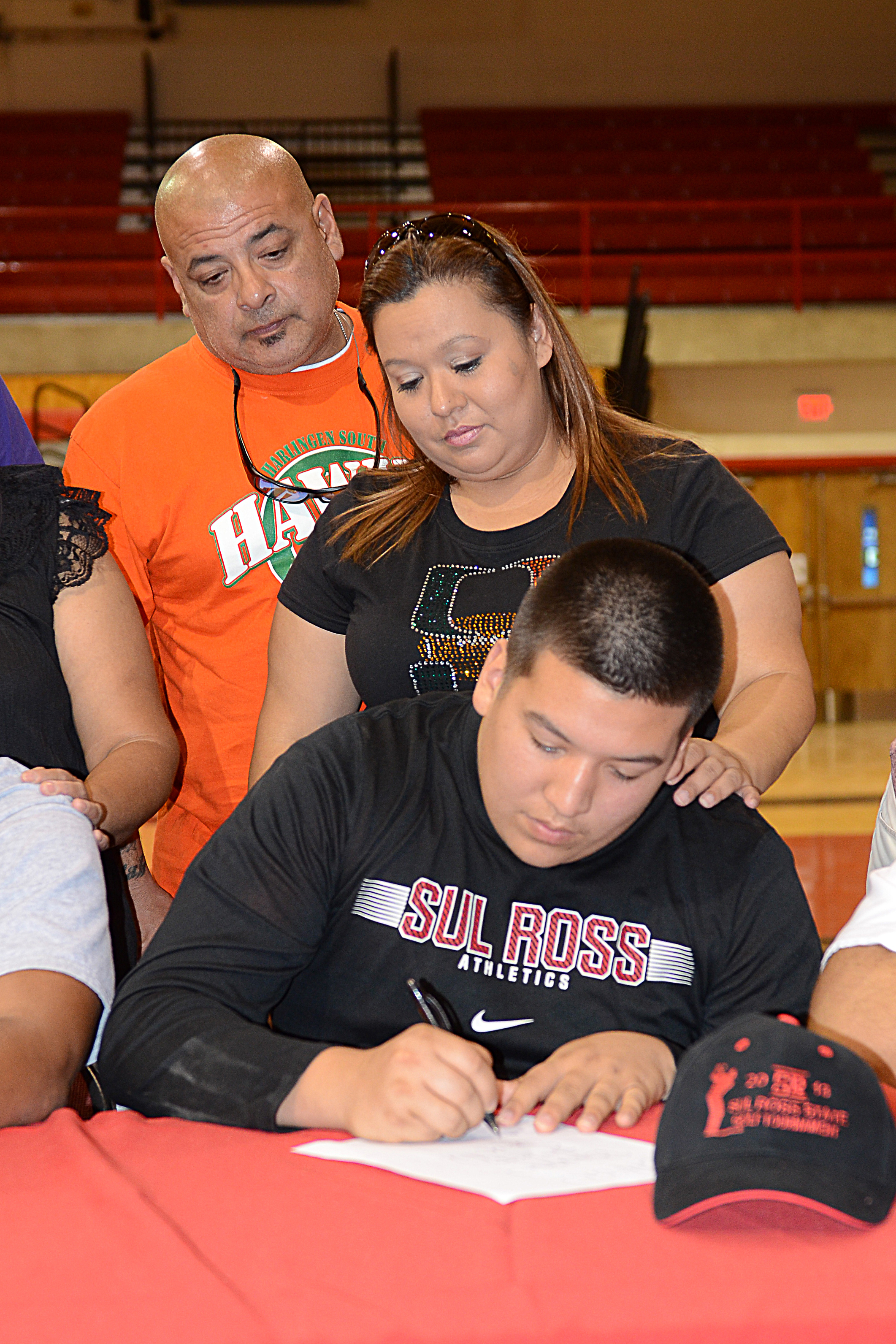 HHSS graduate signs letter of intent for football