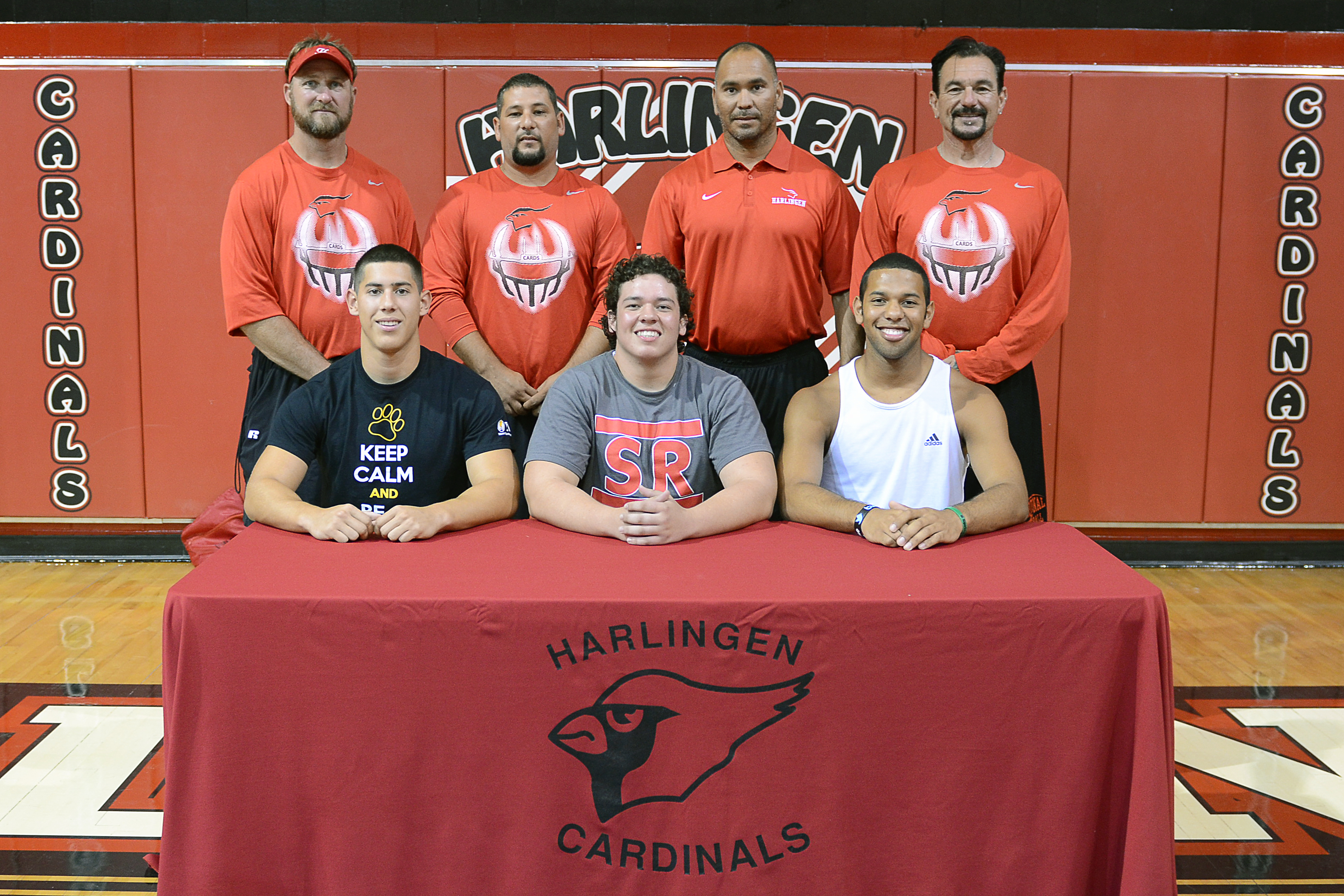 Recent HHS graduates continue football careers in college