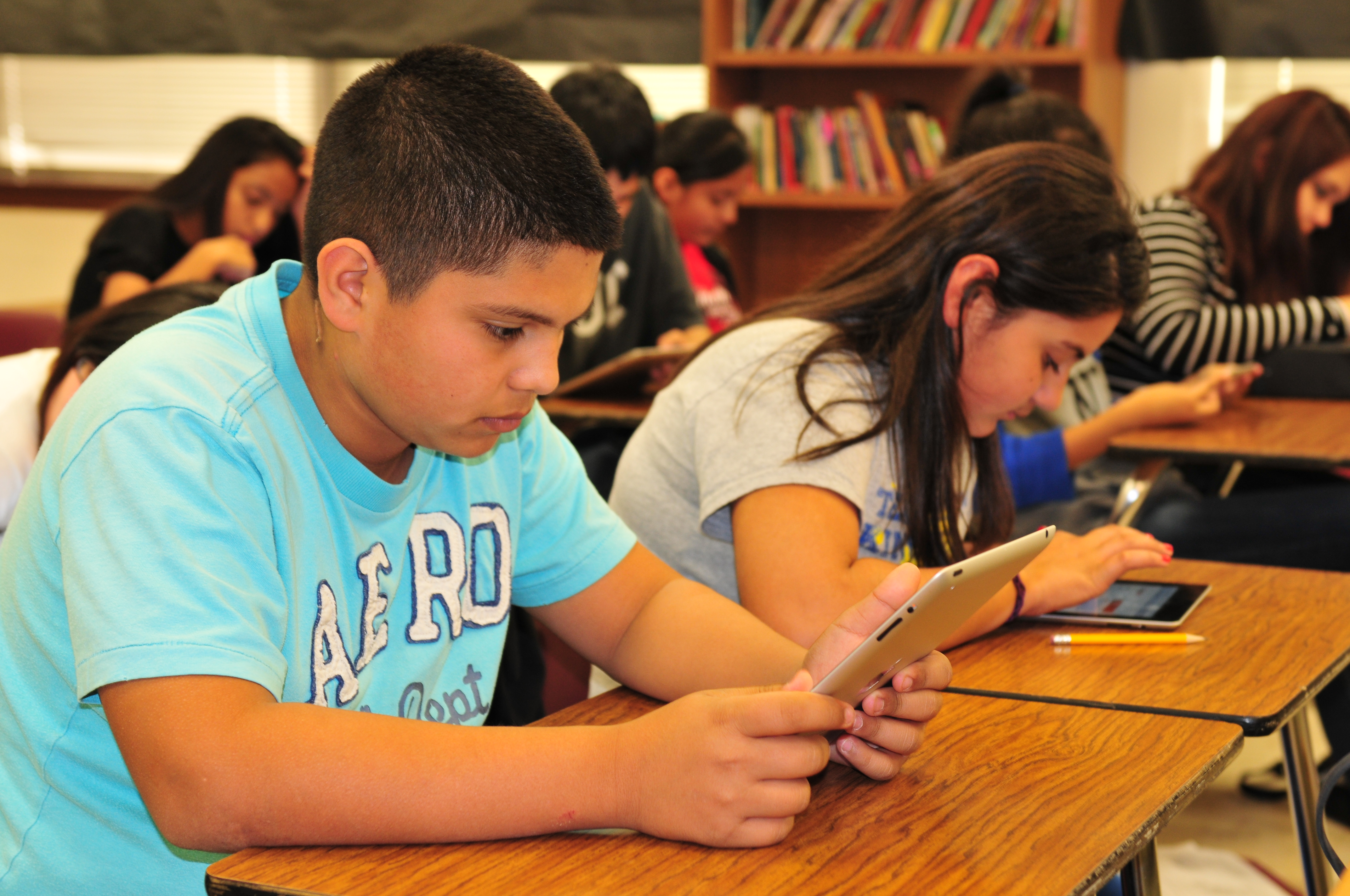 HCISD rolls out second year of technology initiative