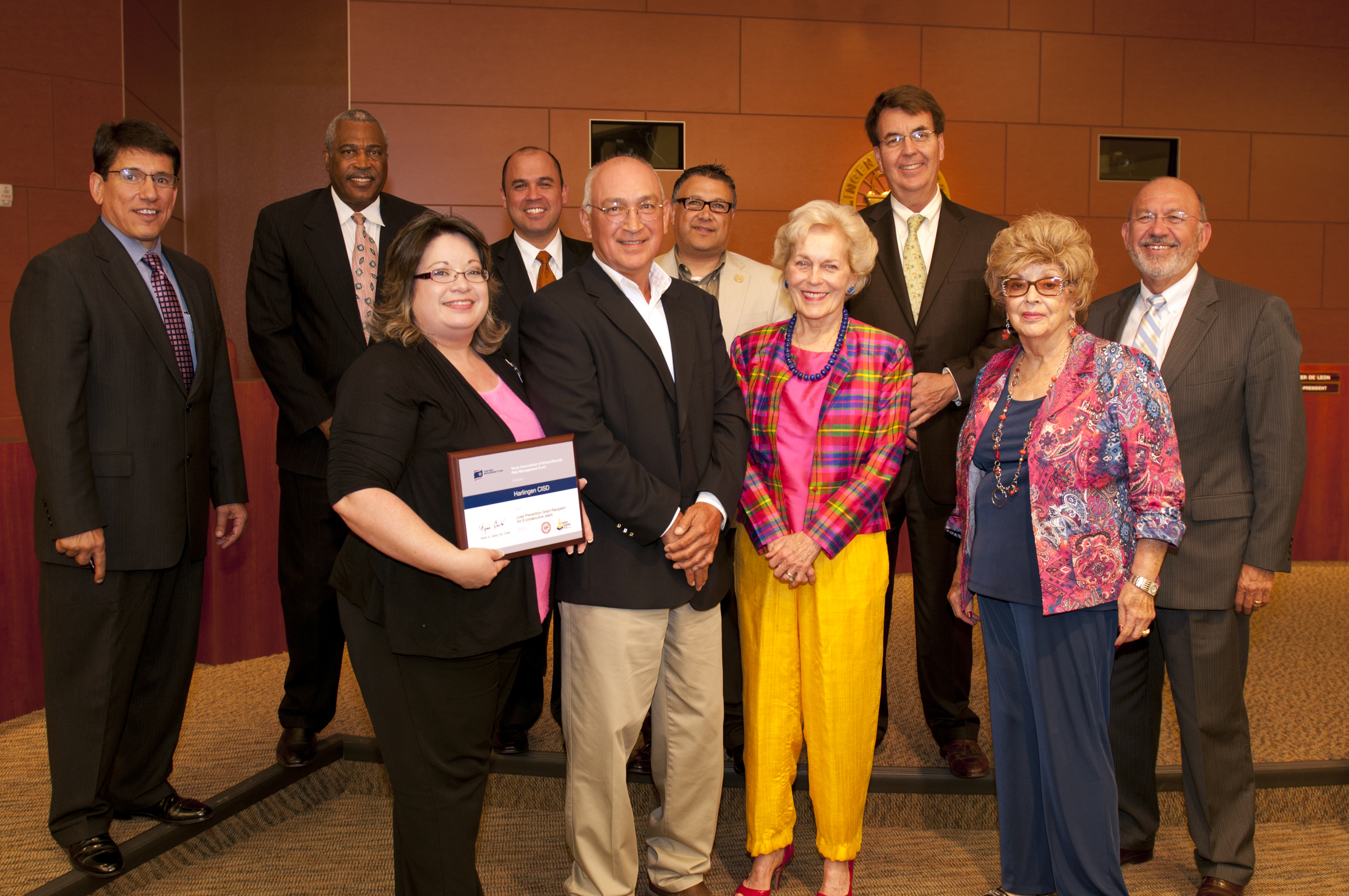 HCISD recognized for district safety by TASB