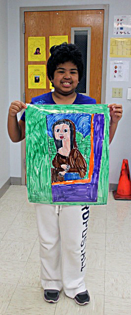 Coakley student brings her own twist to classic masterpieces
