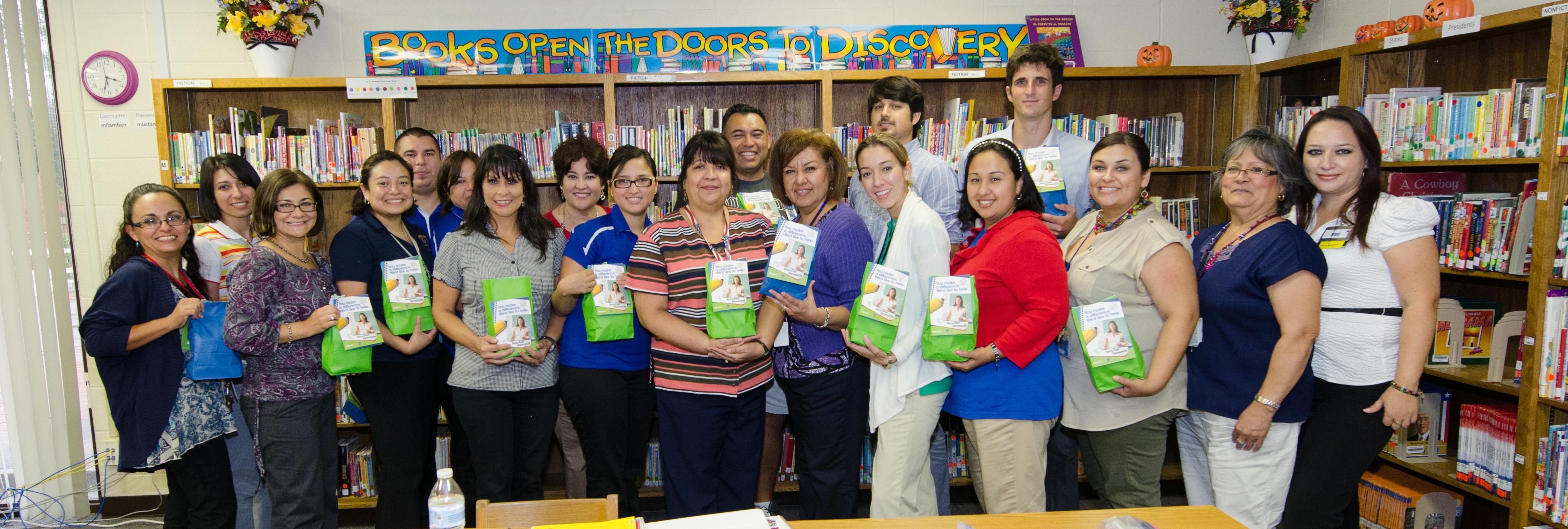 Ben Milam teachers recognized for efforts by Walmart