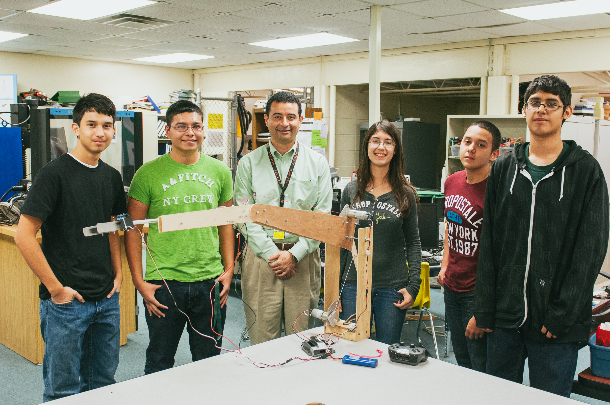 High school robotics teams get in gear for annual competition