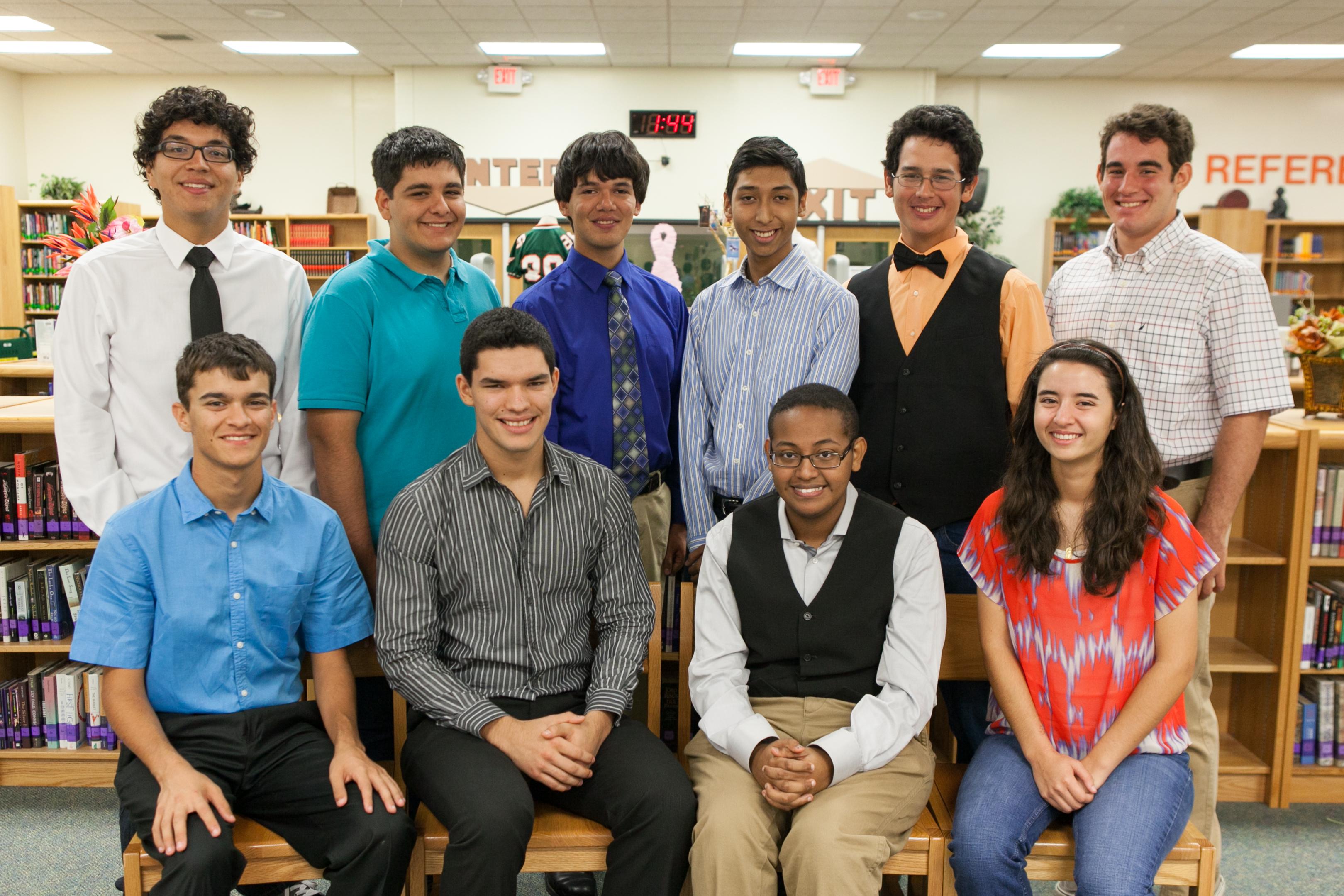 HHSS seniors make campus history with selection to prestigious program