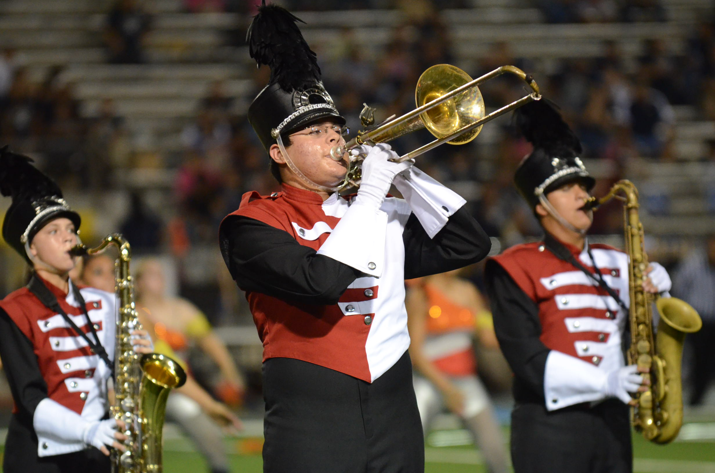 HHS Marching Band take two contests in one day