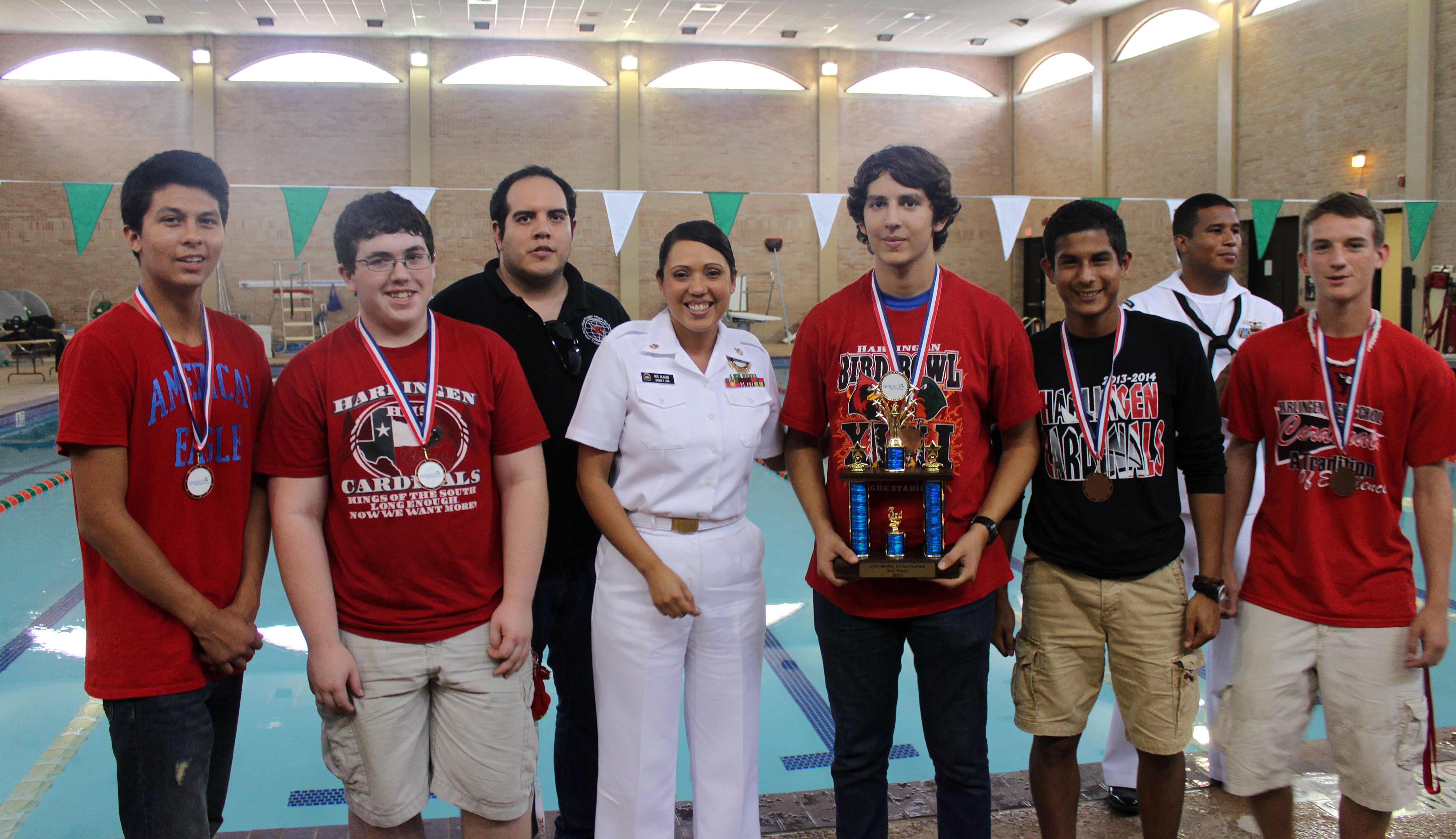 High school engineers make a splash at NAVY Seaperch Competition