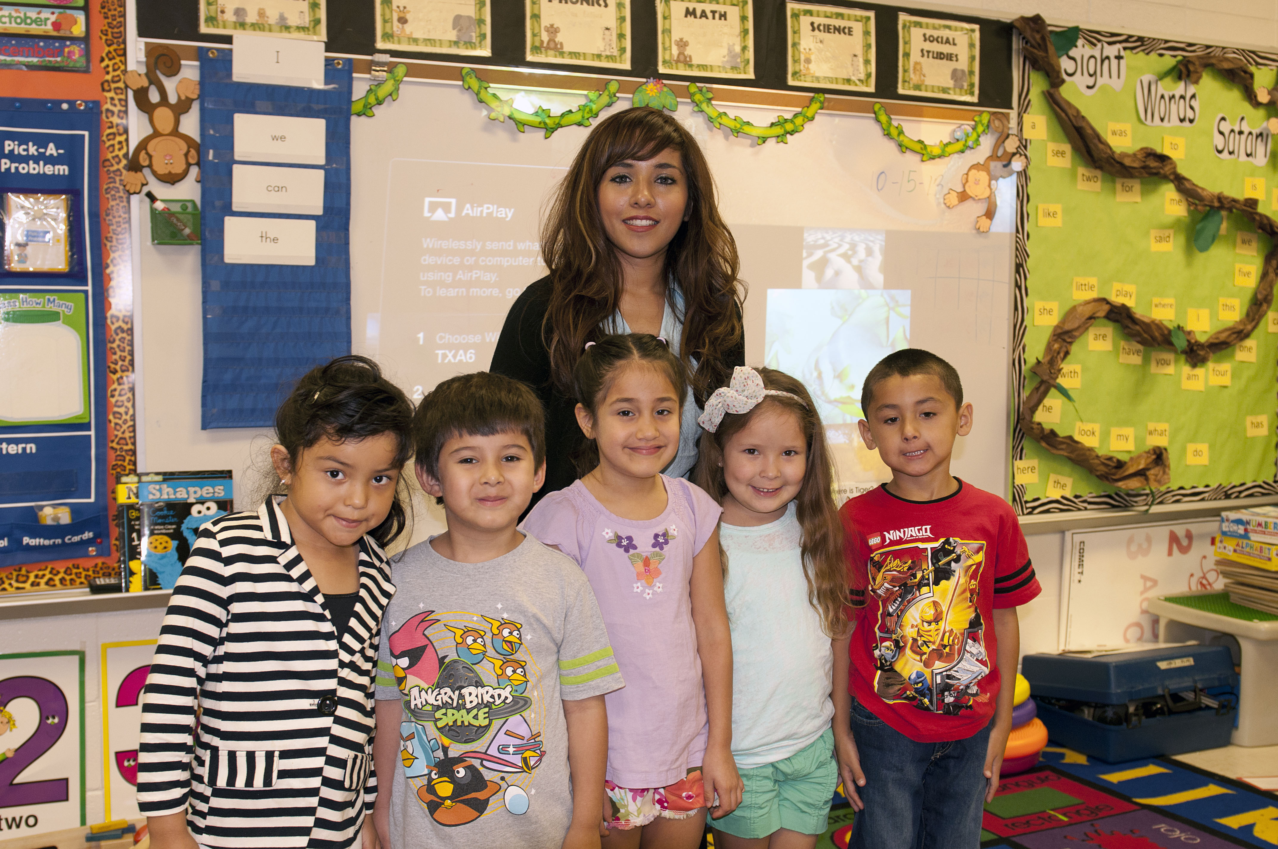 Teacher of the Week: Pompa learns with her students for continued success