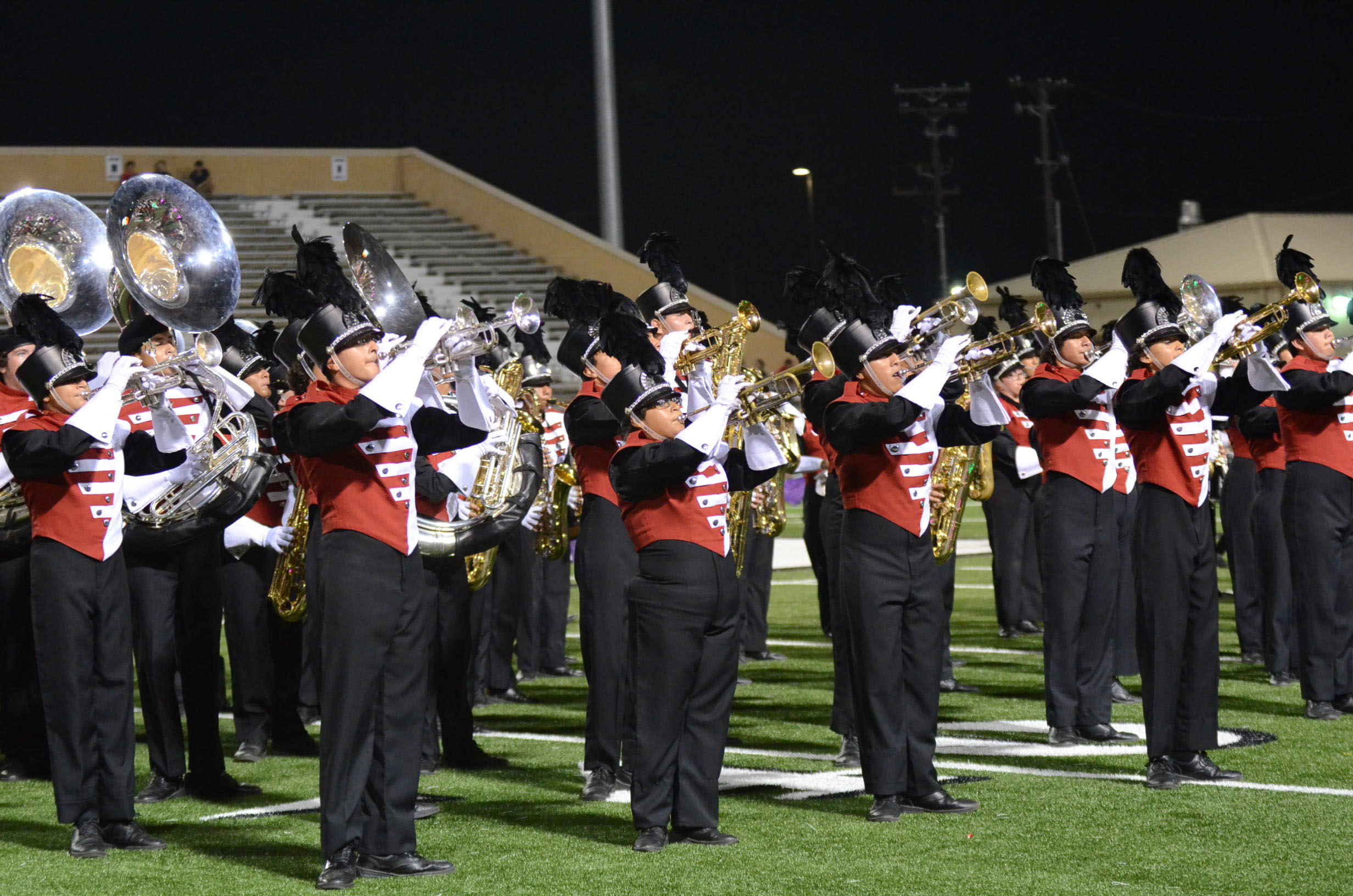 High school marching bands finish on top at Pigskin Jubilee