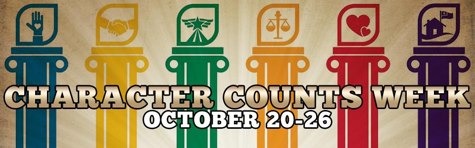 Character Counts Week 2013