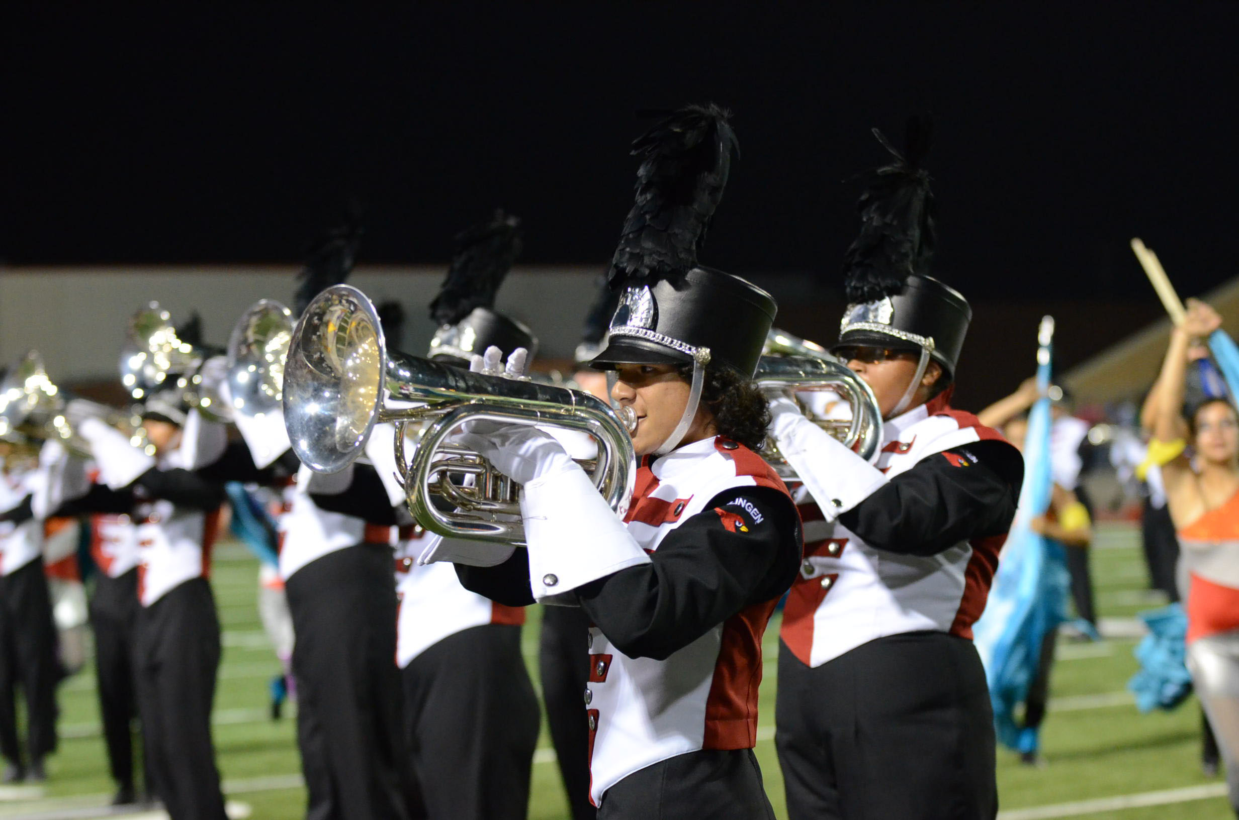 High School marching bands stay on key at RGV music competition