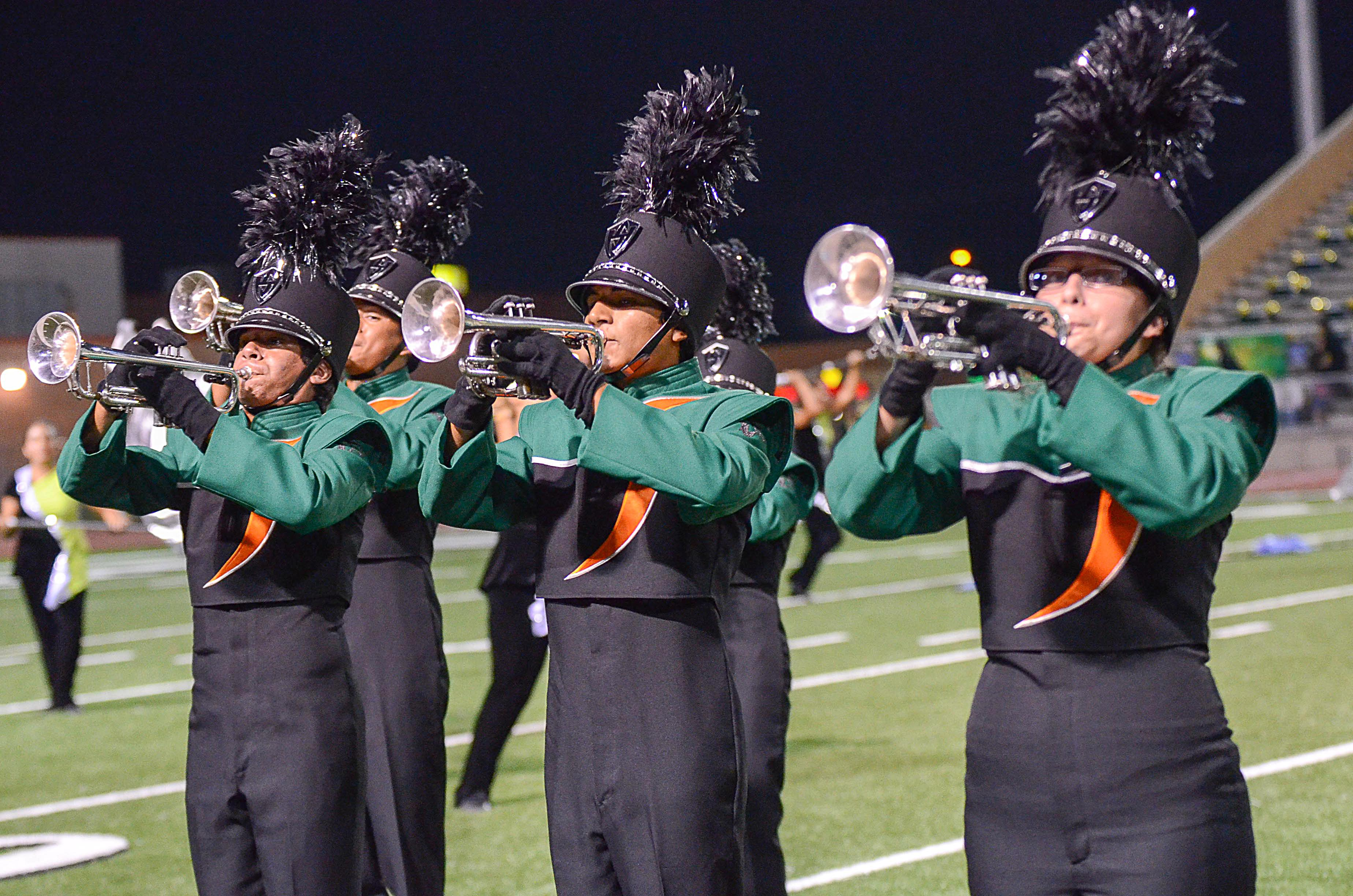 HHSS Marching Band named showcase champion