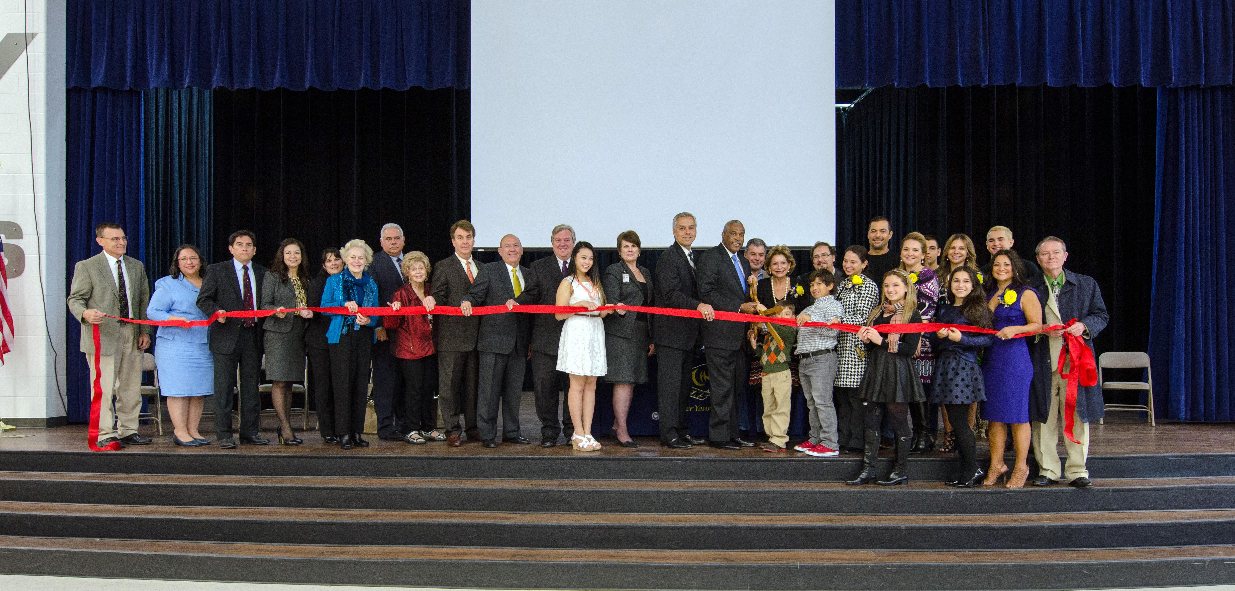Dr. Abraham P. Cano Freshman Academy celebrates grand opening