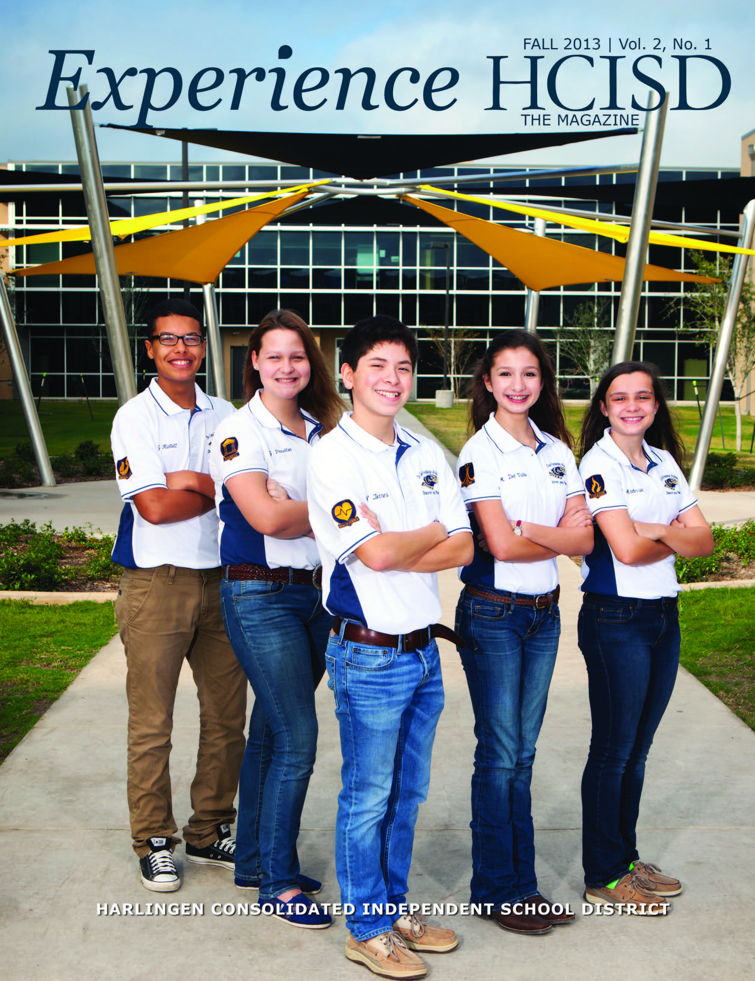 HCISD releases issue 3 of Experience HCISD The Magazine