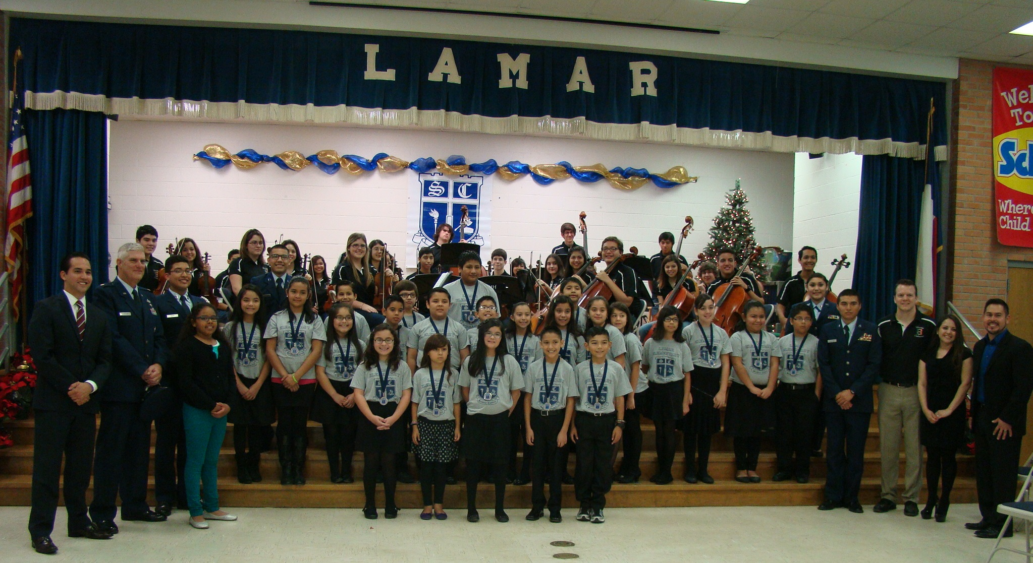 Lamar hosts ceremony for new Student Council members