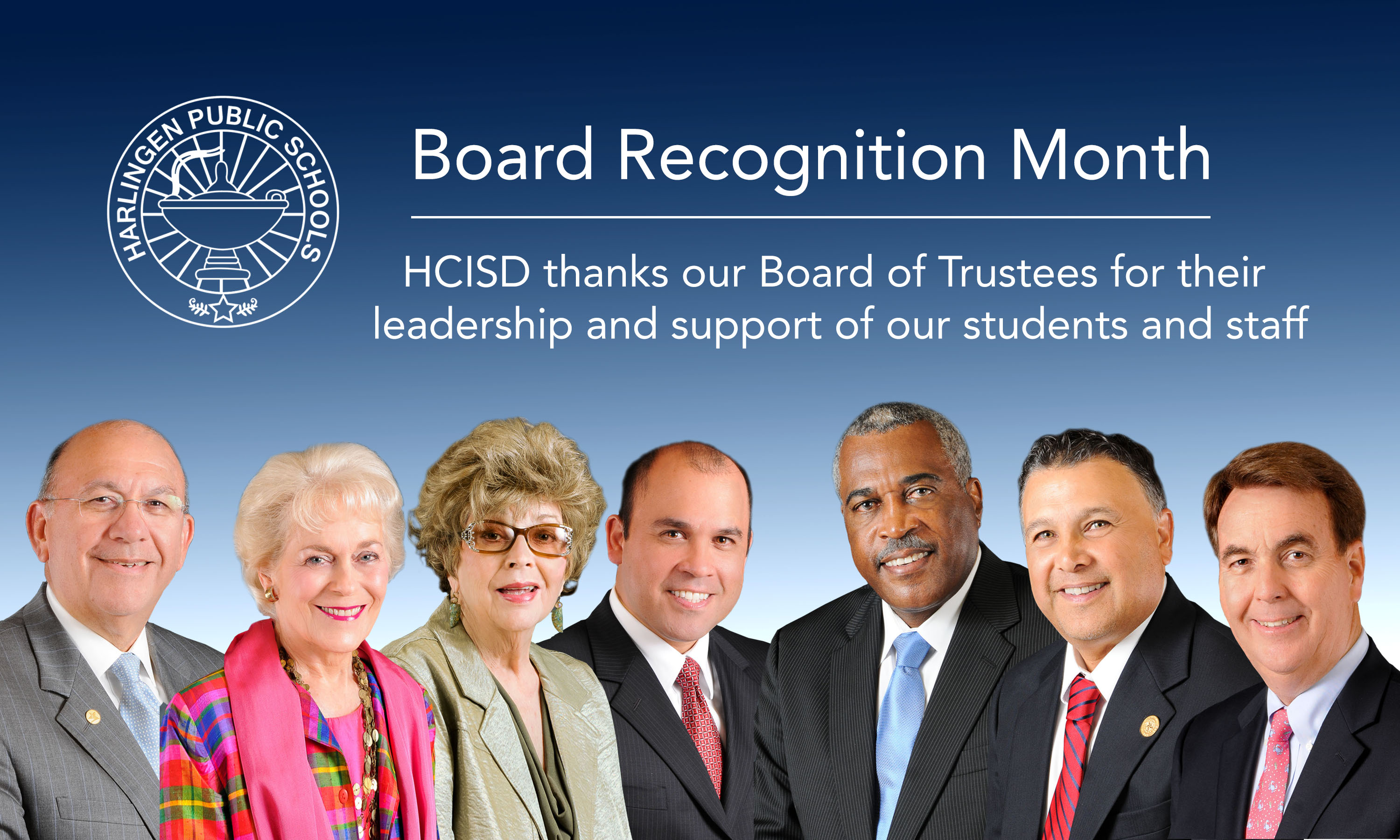 HCISD celebrates Board Appreciation Month