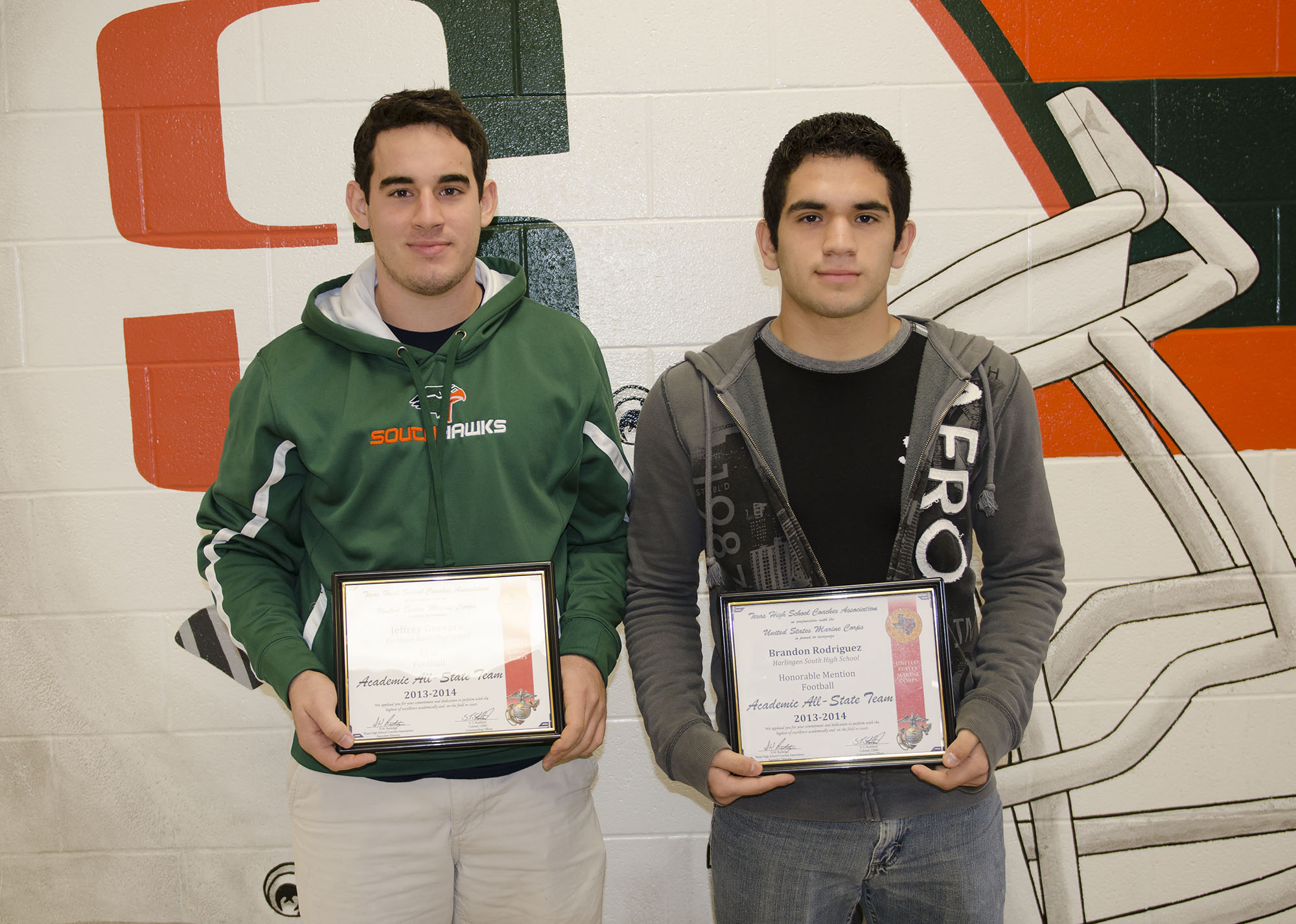 HHSS, HHS football players named to 2013-2014 Academic All-State Team
