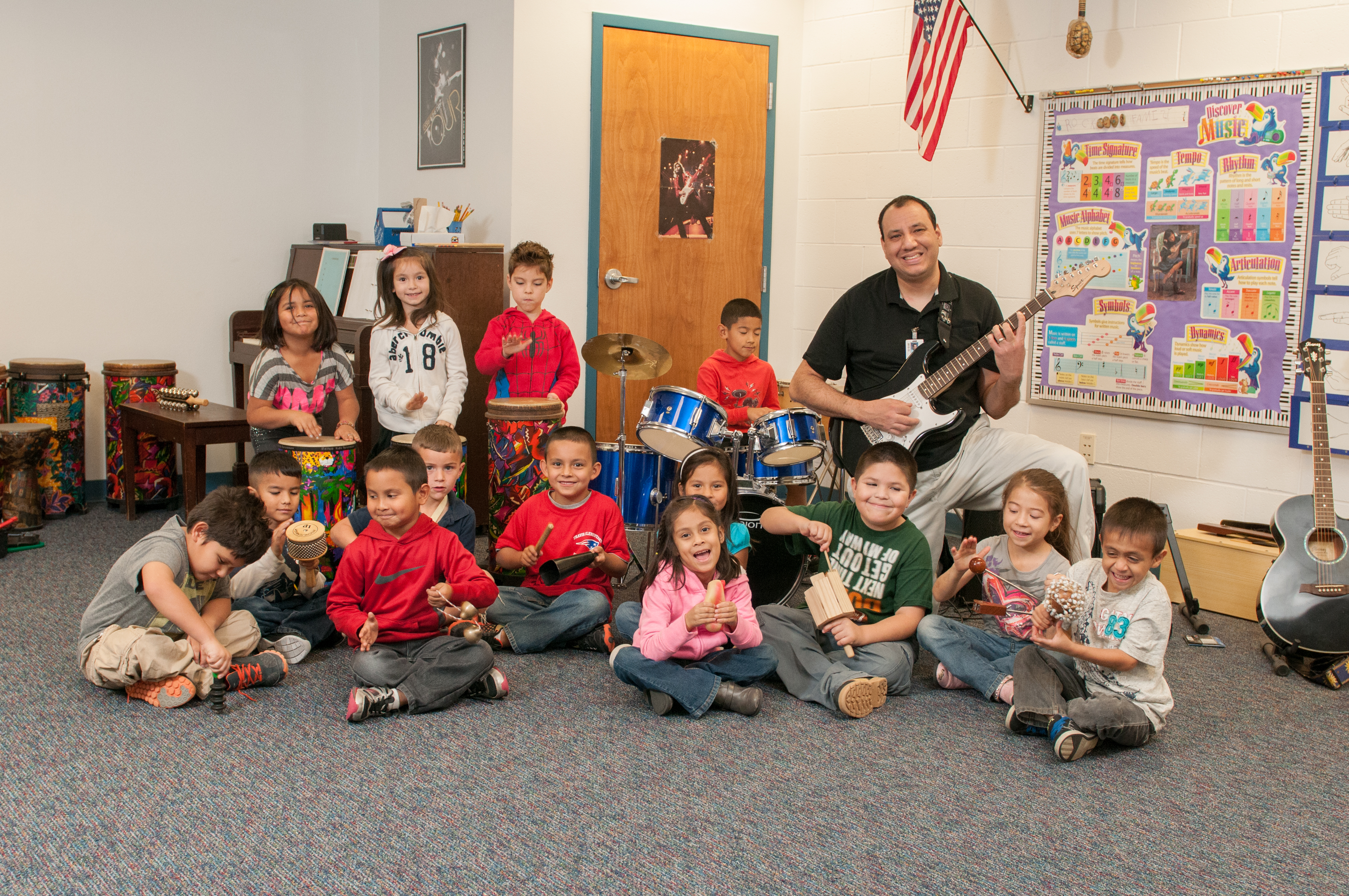 Teacher of the Week: Garza keeps his class on the right note