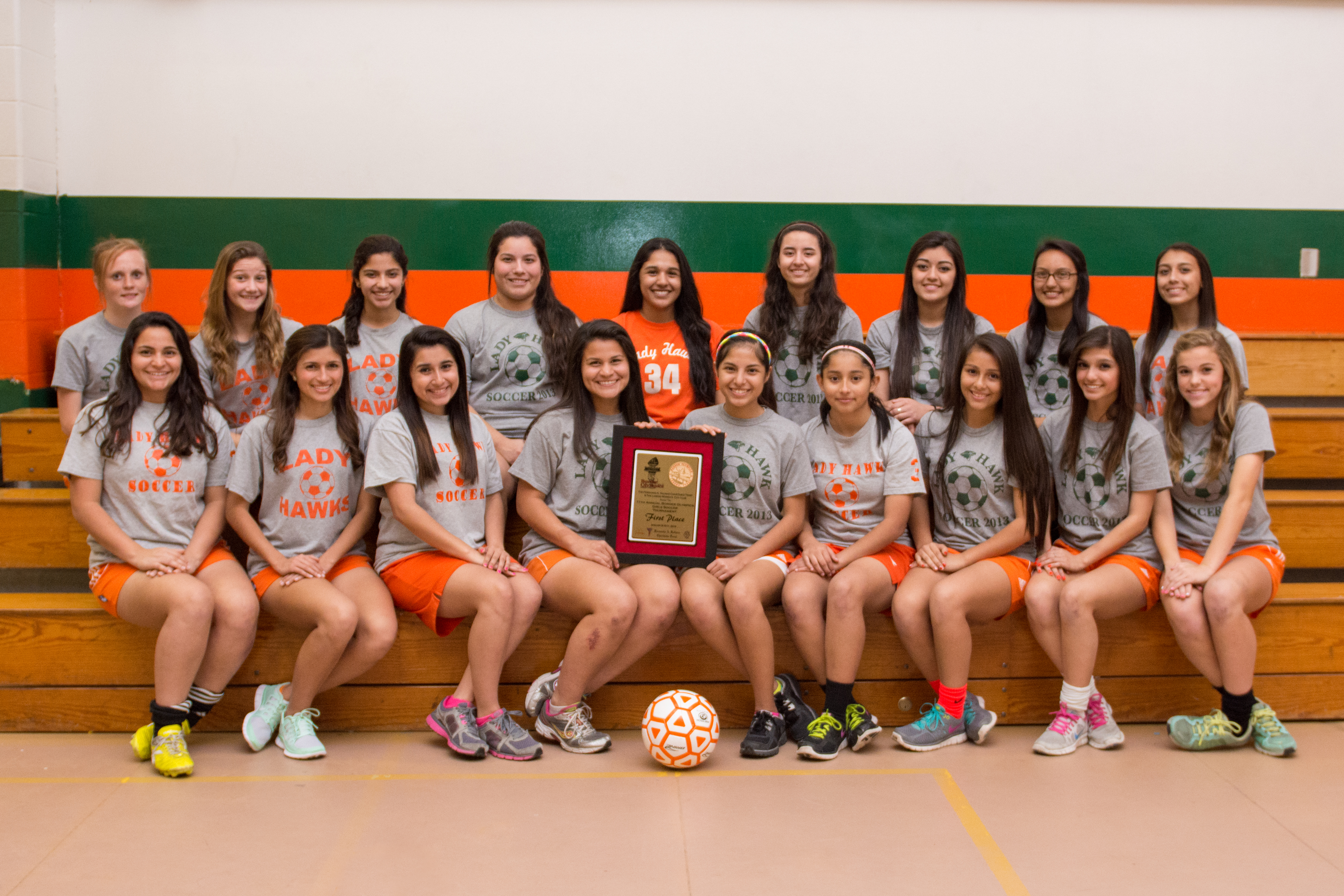 HHSS girls soccer soars at Laredo tournament