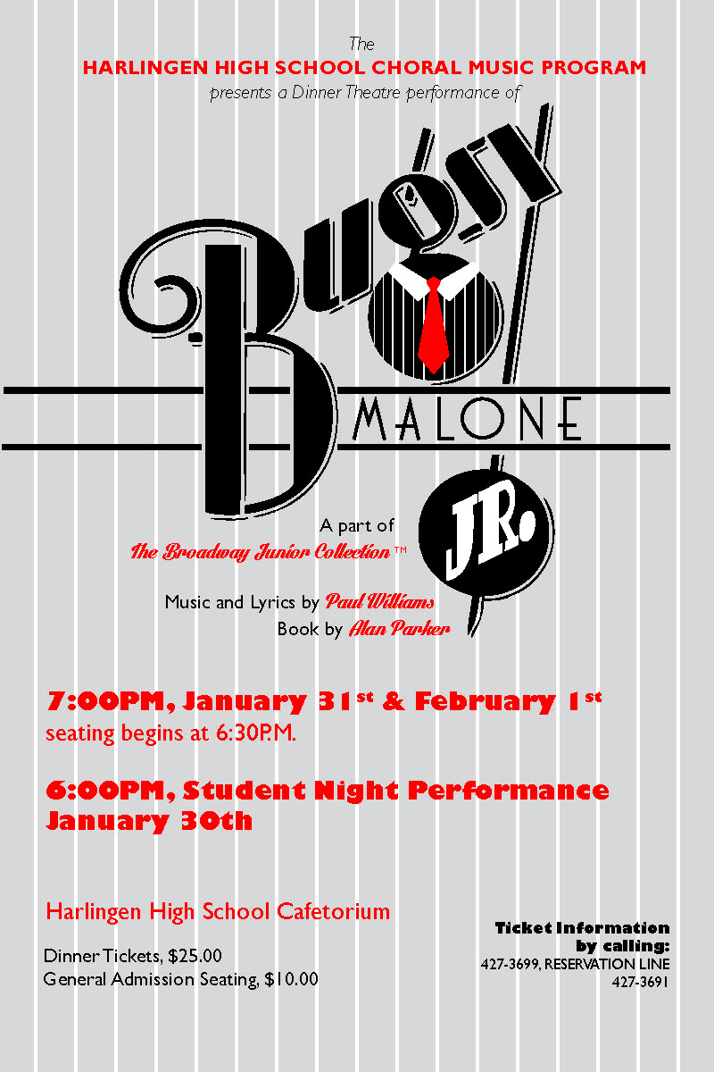 HHS choir invites community to experience Bugsy Malone, Jr.