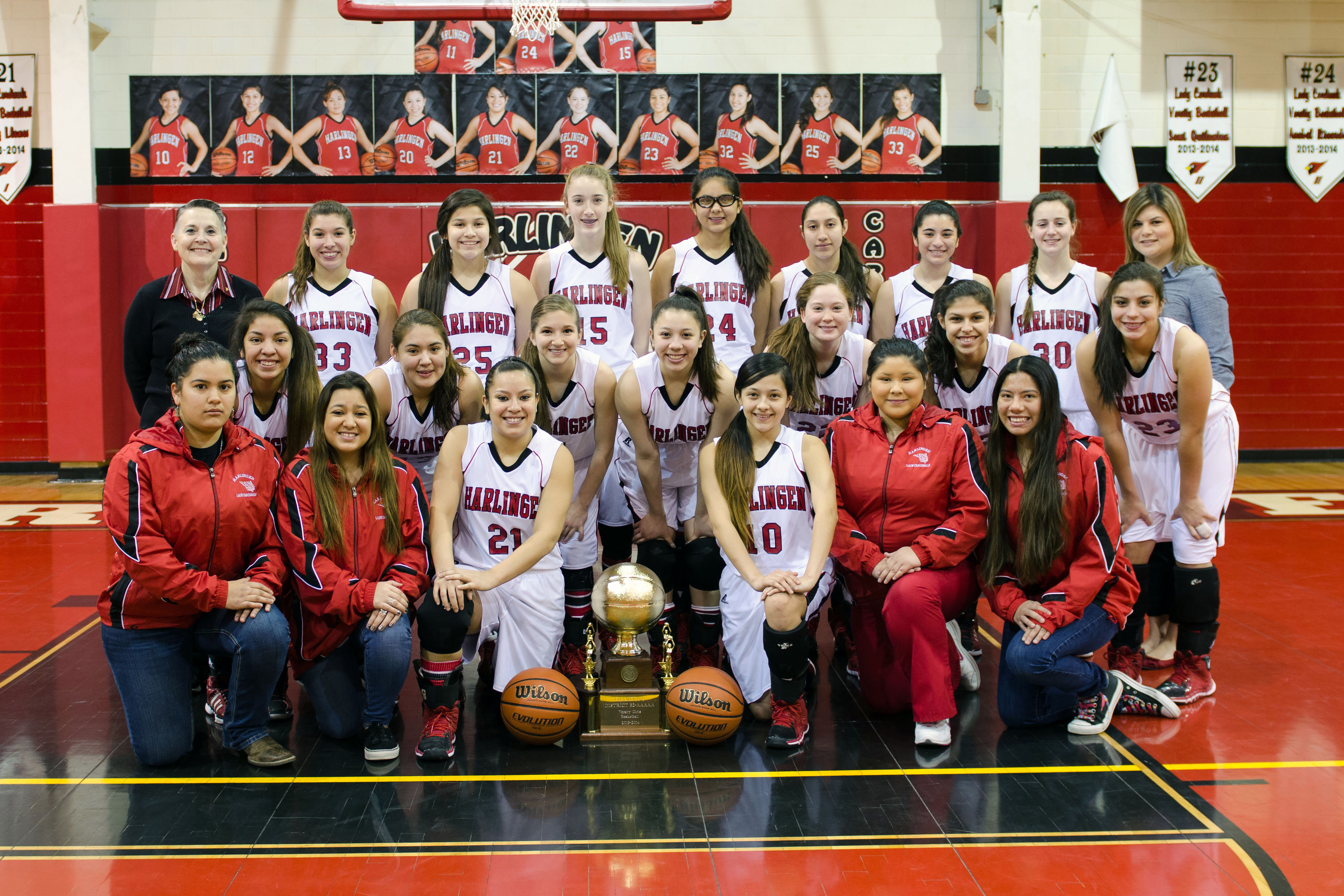 Lady Cardinals named District Champions, HHS Girls Basketball continues season