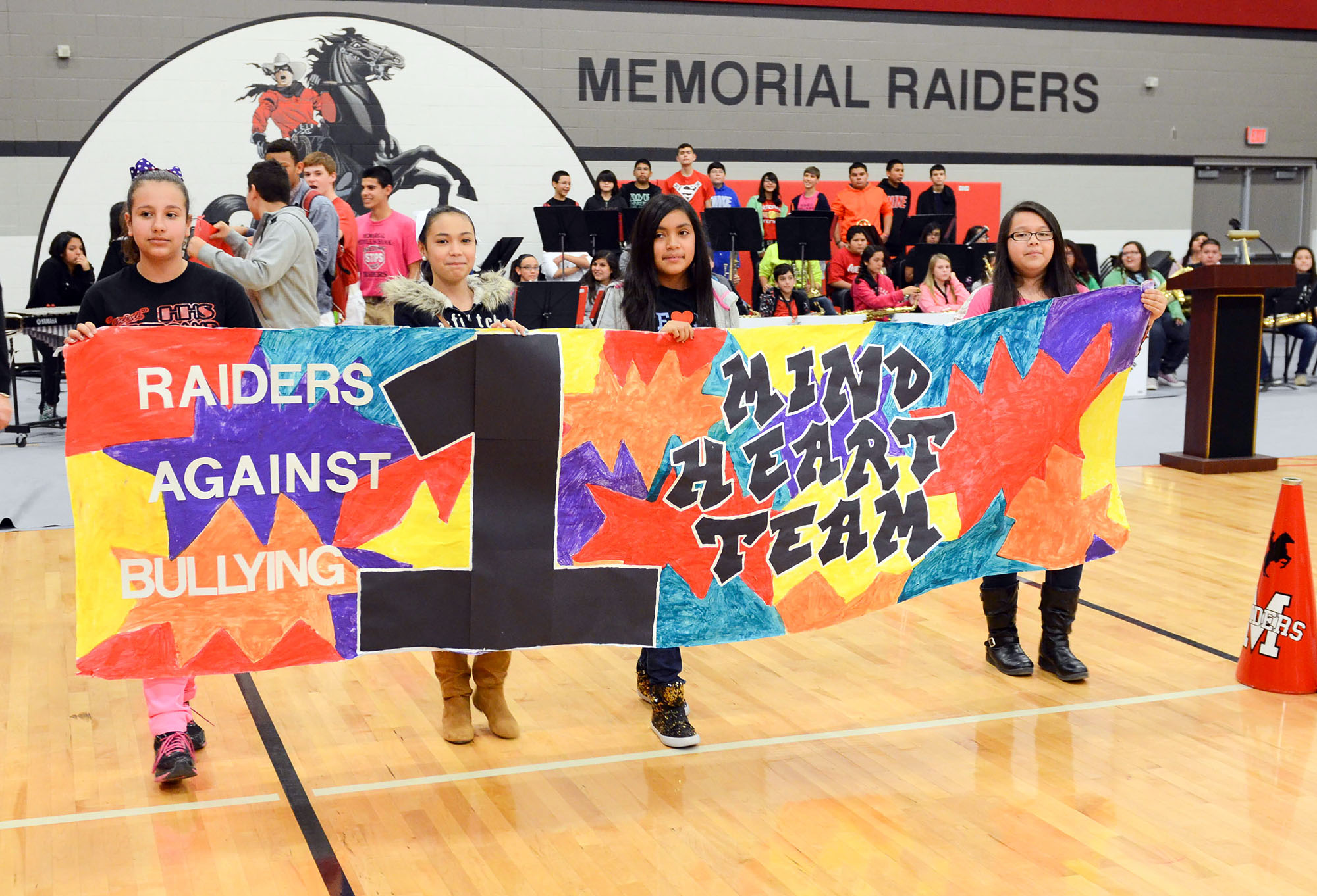 Memorial Raiders aim to keep all students safe with anti-bullying program