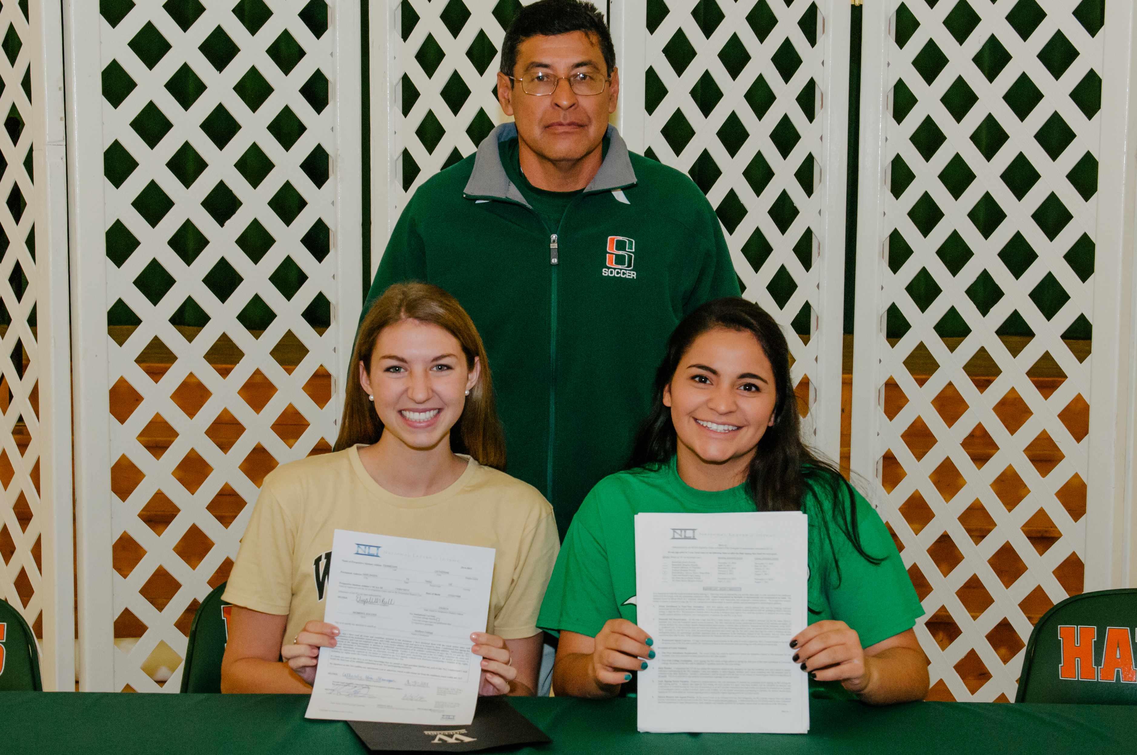 HHS, HHSS students commit to continuing academic and athletic excellence