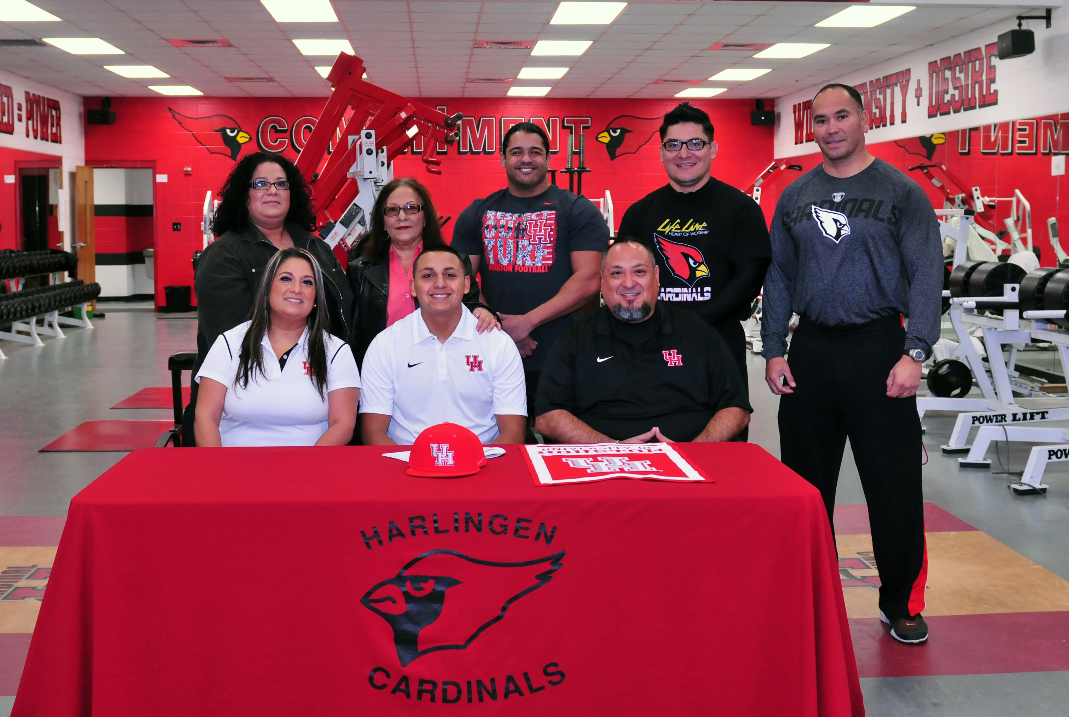 HHS senior commits to continuing football career